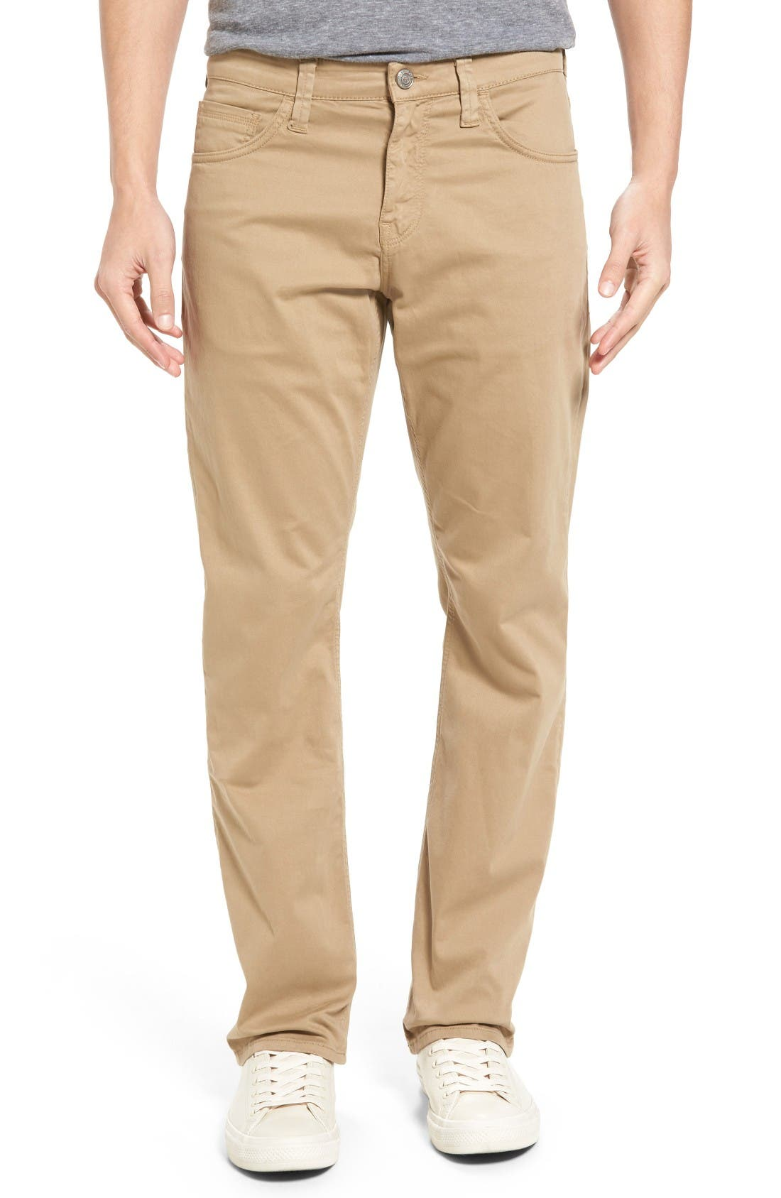 Matte Relaxed Fit Jeans,                         Main,                         color, British Khaki Twill
