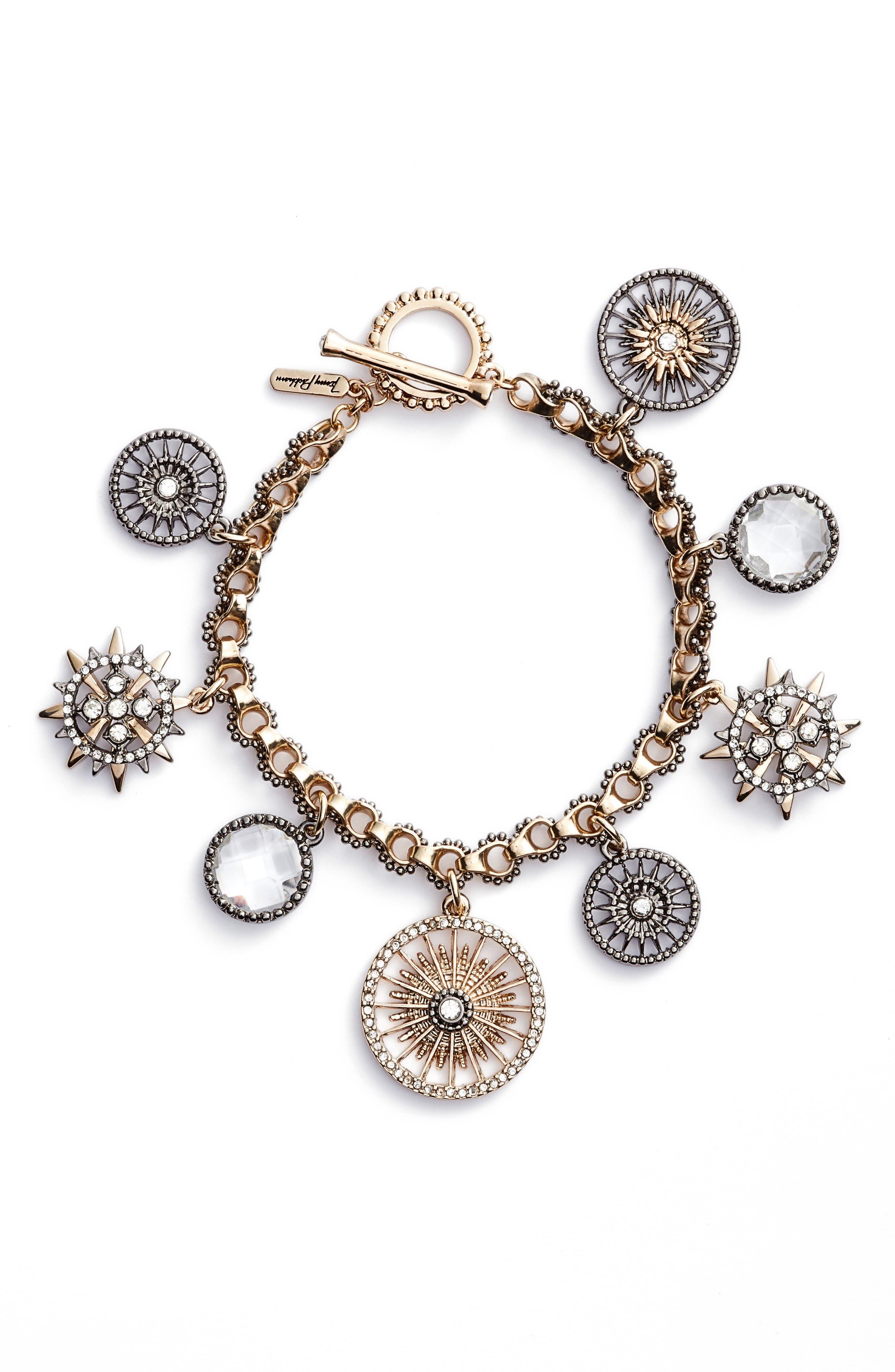 Alternate Image 1 Selected - Jenny Packham Charm Bracelet