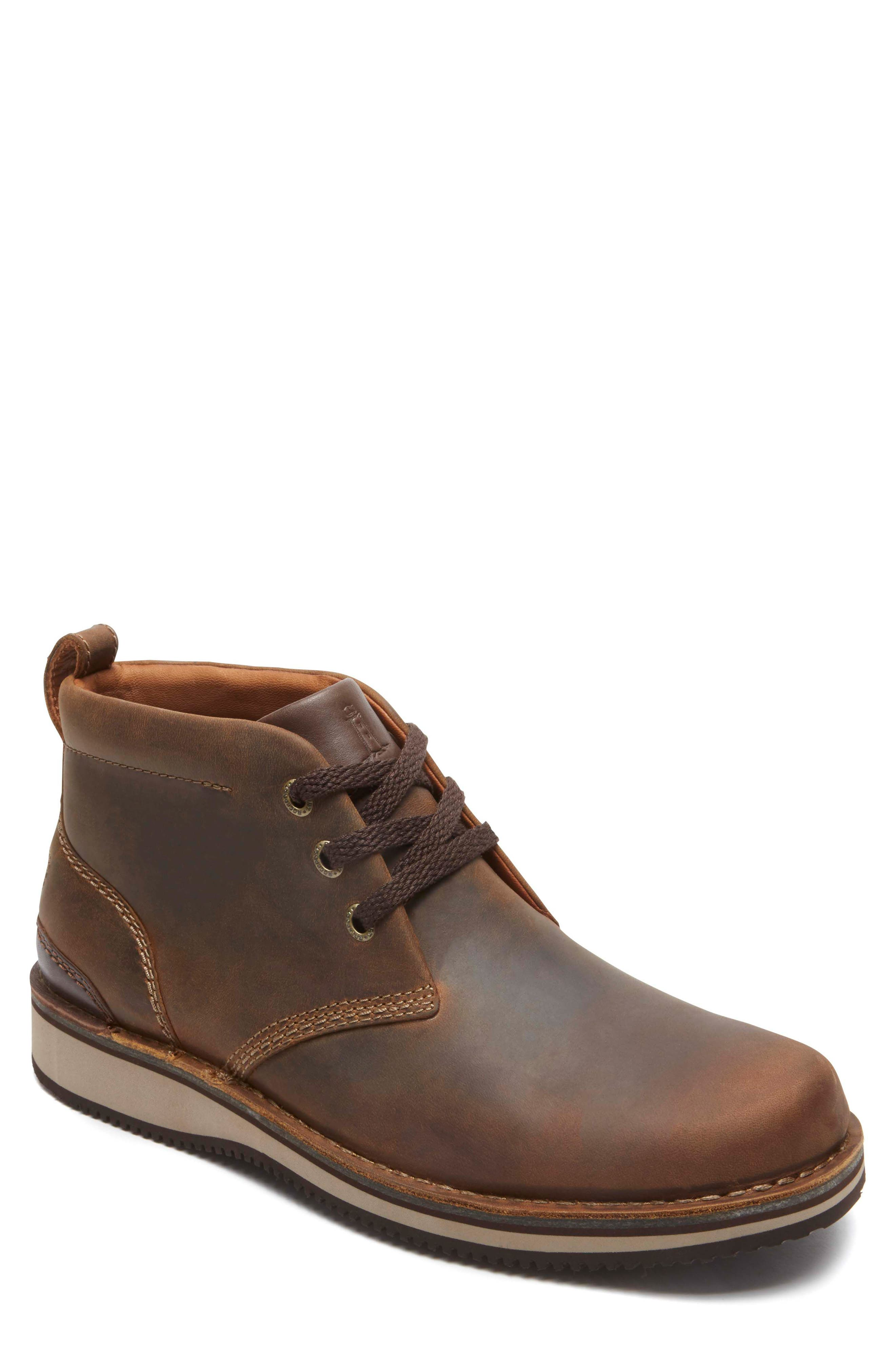 'Prestige Point' Chukka Boot,                             Main thumbnail 1, color,                             Beeswax Leather