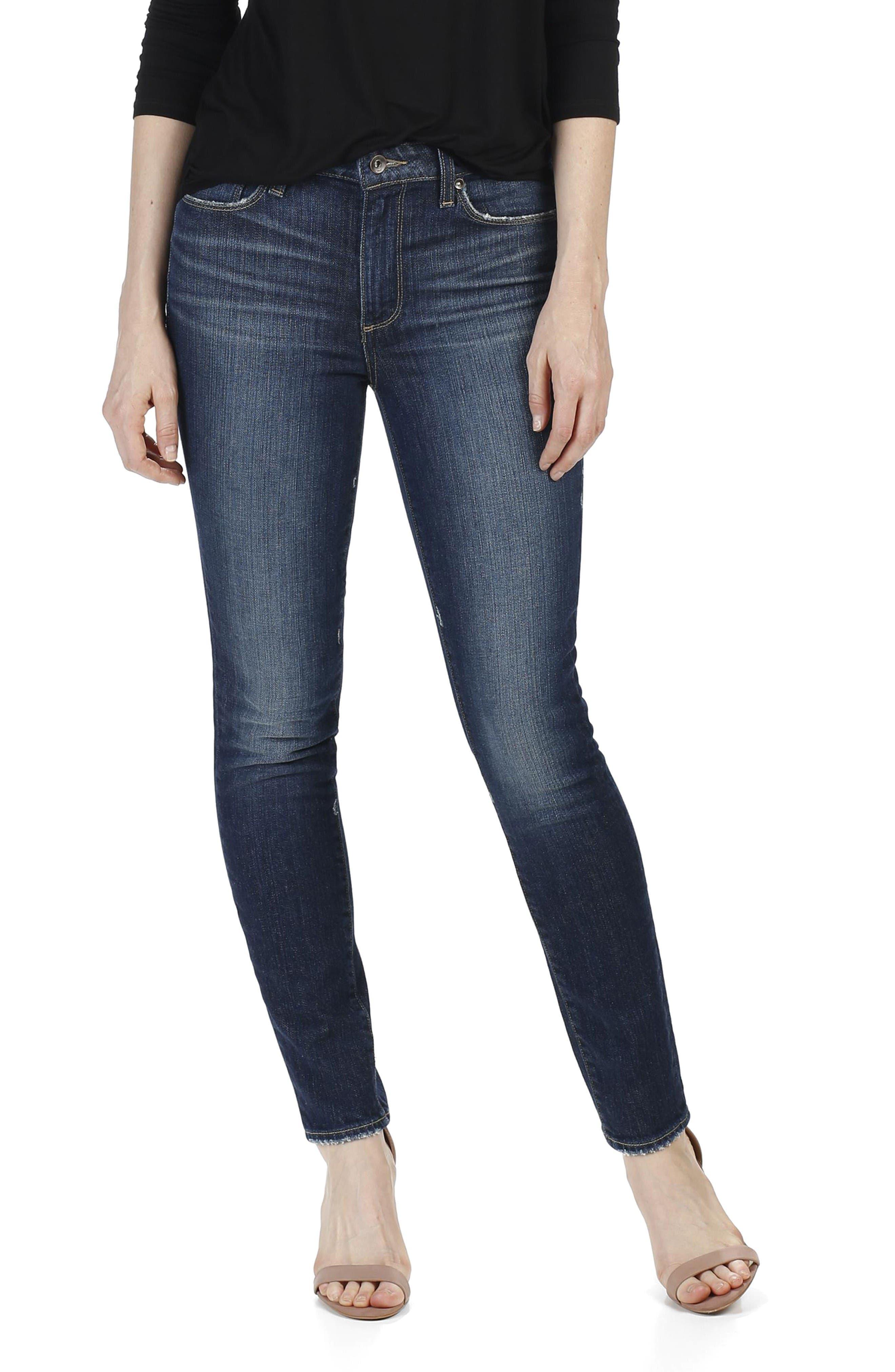 PAIGE Hoxton High Waist Ultra Skinny Jeans