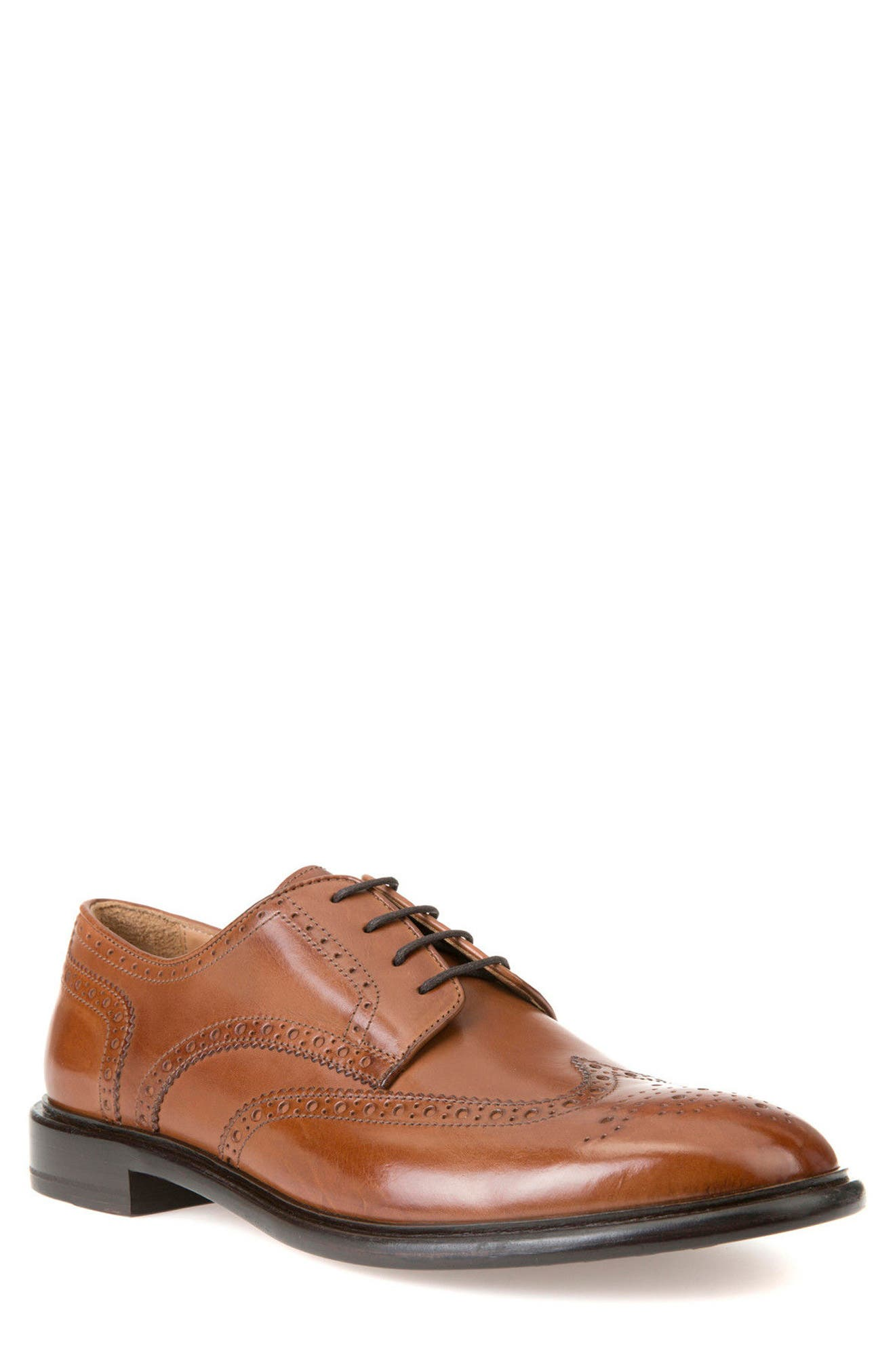 Guildford 4 Wingtip,                             Main thumbnail 1, color,                             Dark Cognac Leather
