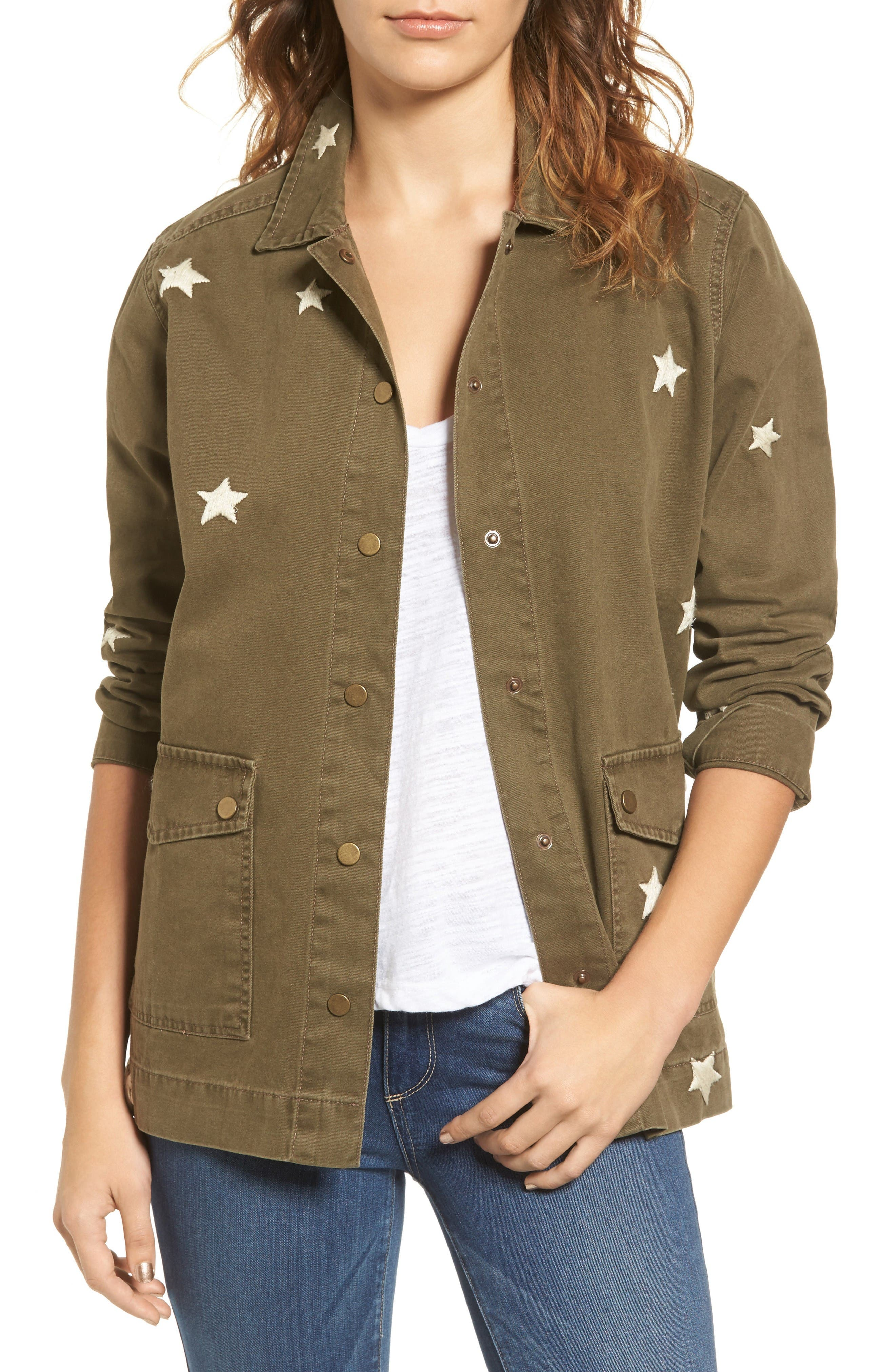 SINCERELY JULES Star Embroidered Jacket