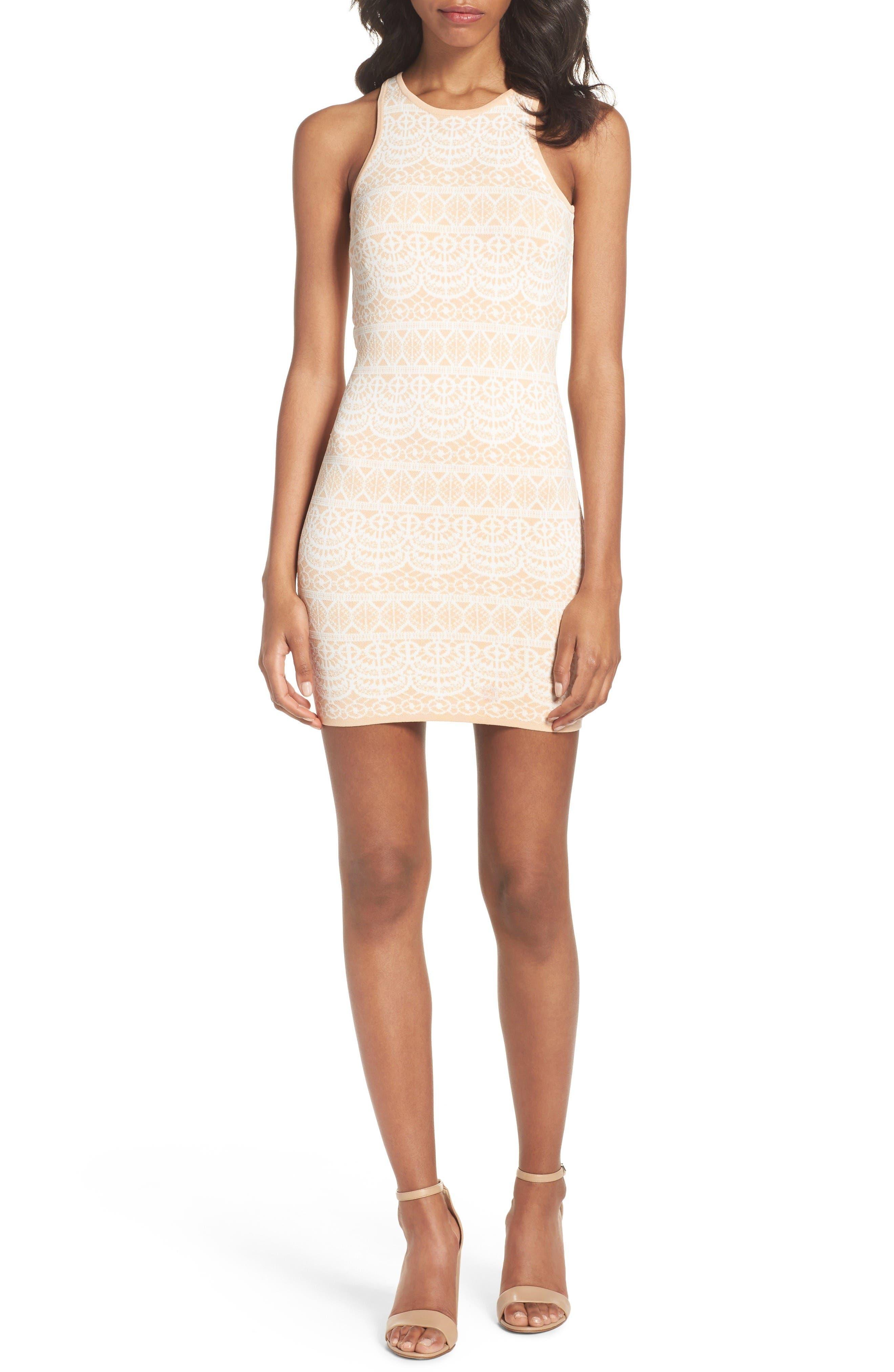 Ali & Jay Fete de Fleurs Body-Con Dress