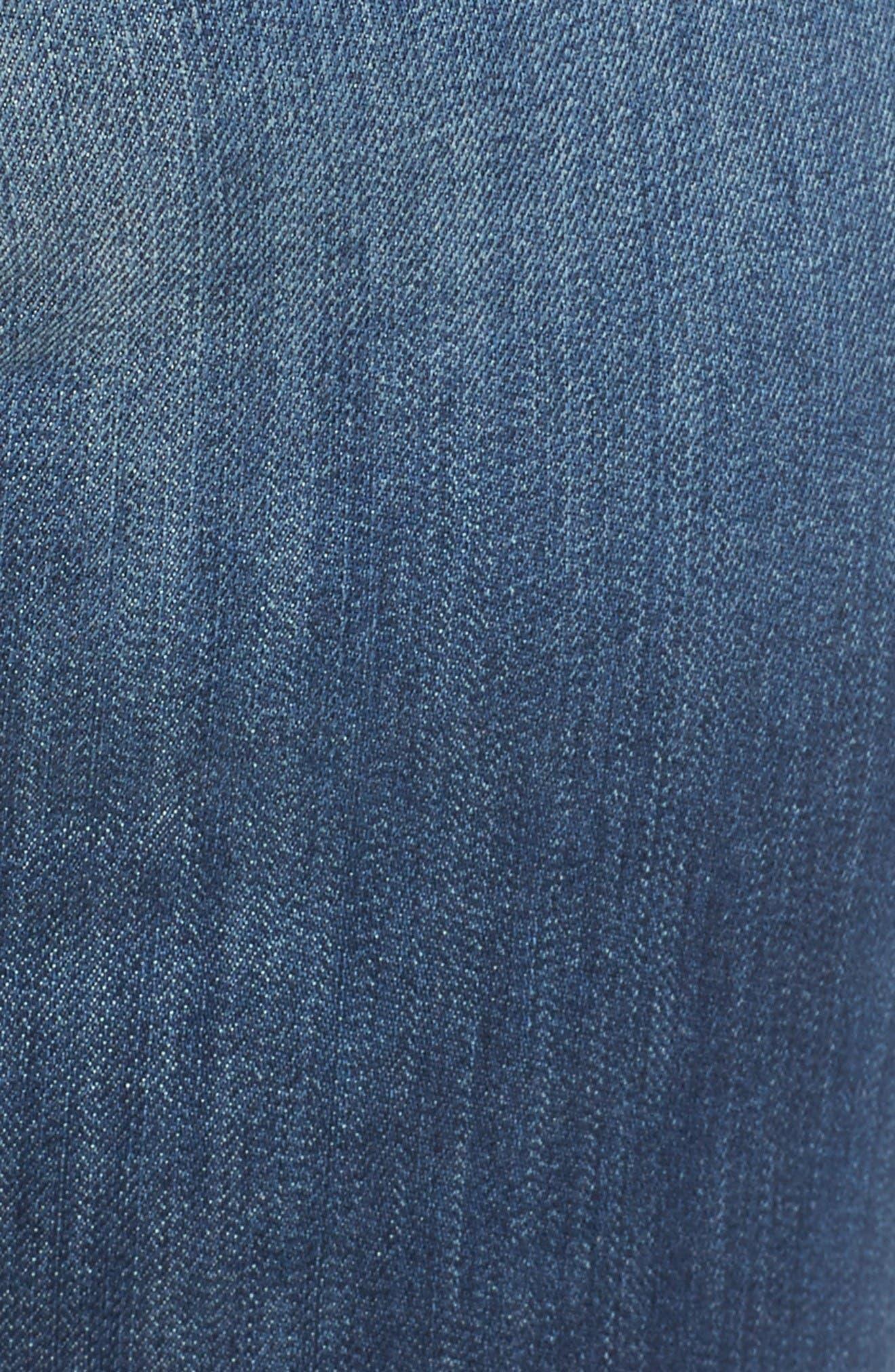 Alternate Image 6  - KUT from the Kloth Catherine Boyfriend Jeans (Doubtless) (Plus Size)