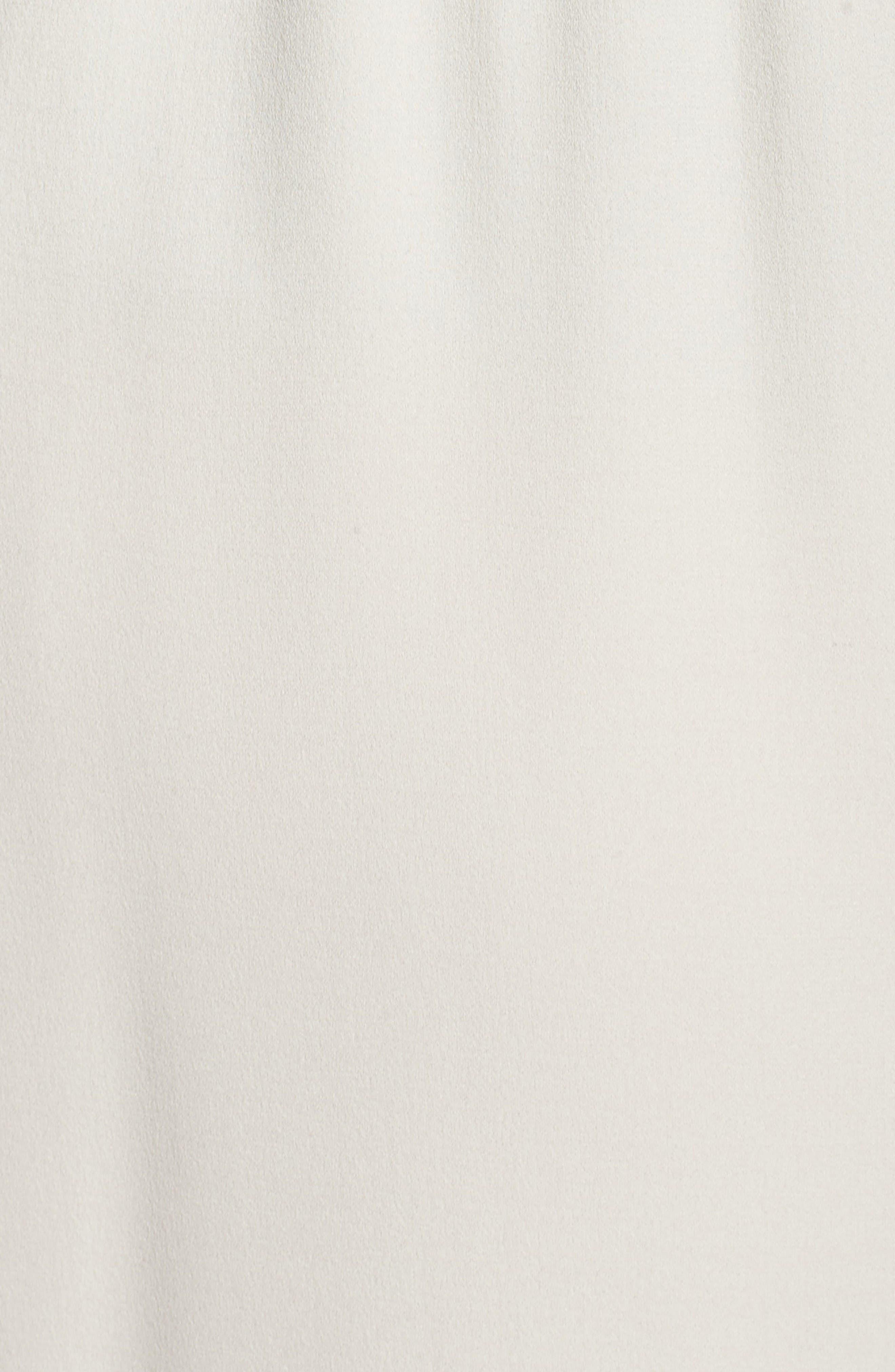 Alternate Image 5  - Eileen Fisher Silk Georgette Crop Pants (Plus Size)