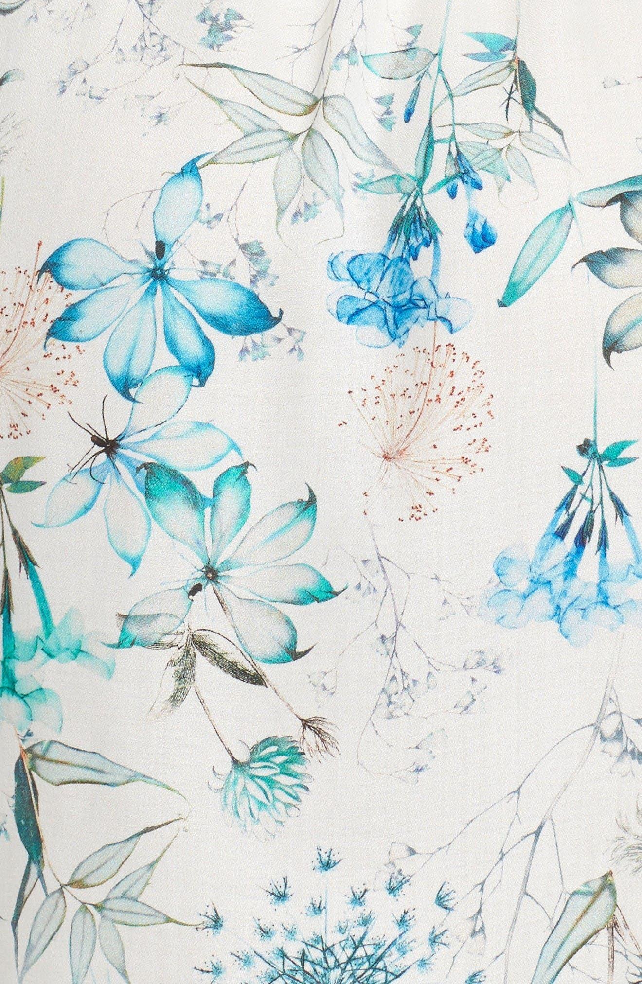 Delilah Kimono,                             Alternate thumbnail 5, color,                             Ivory