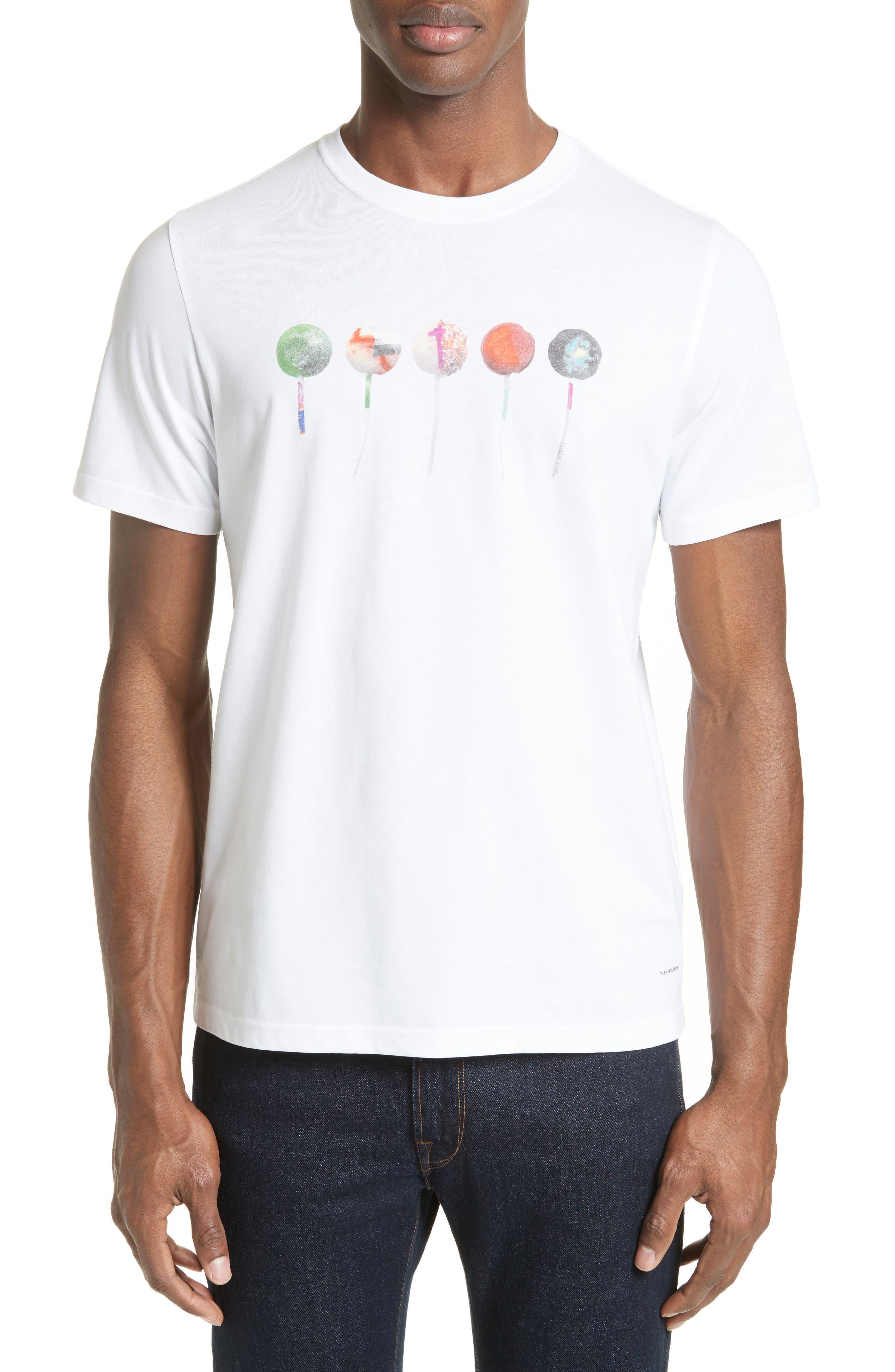 PS Paul Smith Lollipop Print T-Shirt