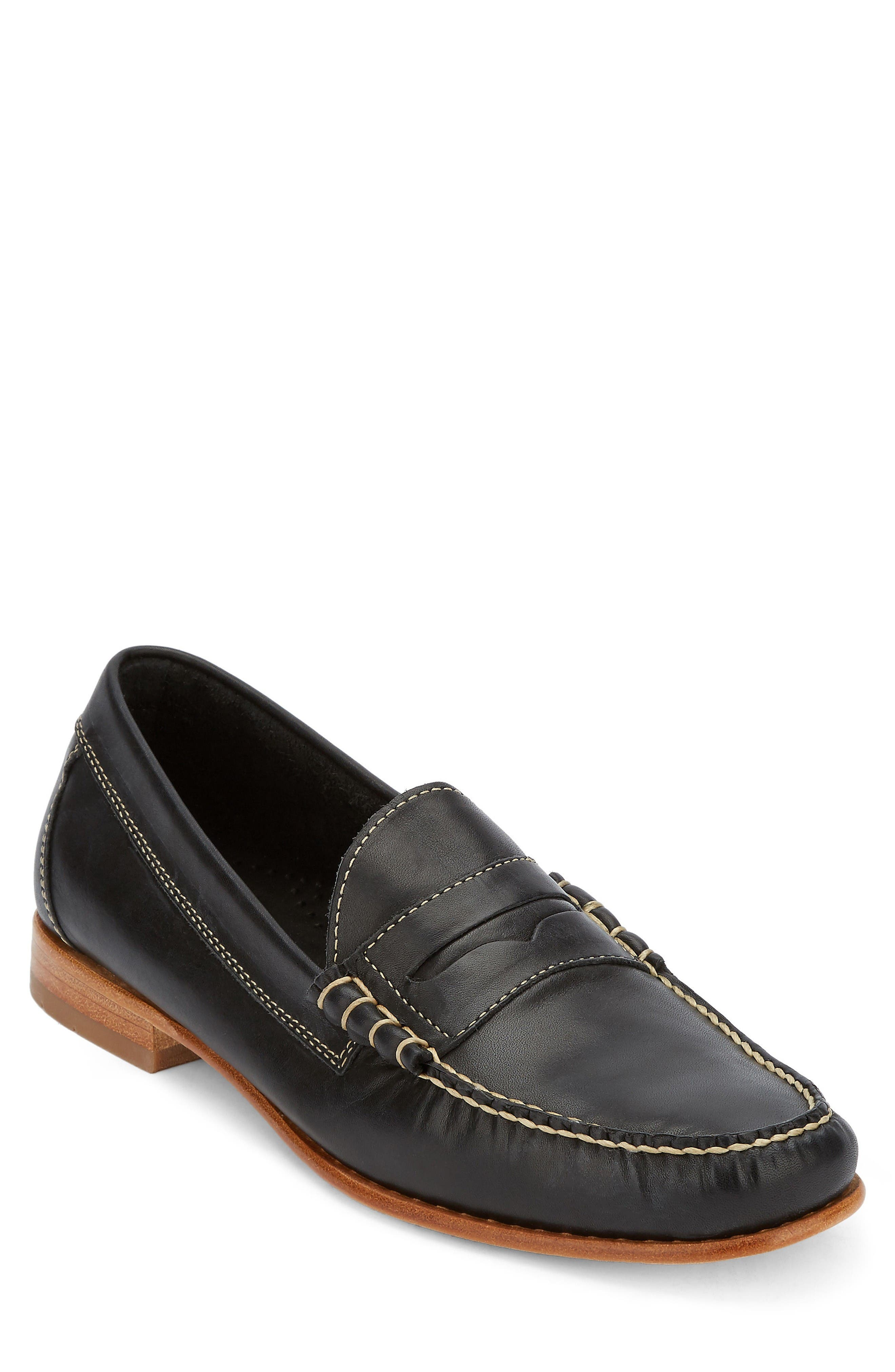 Weejuns Lambert Penny Loafer,                         Main,                         color, Black