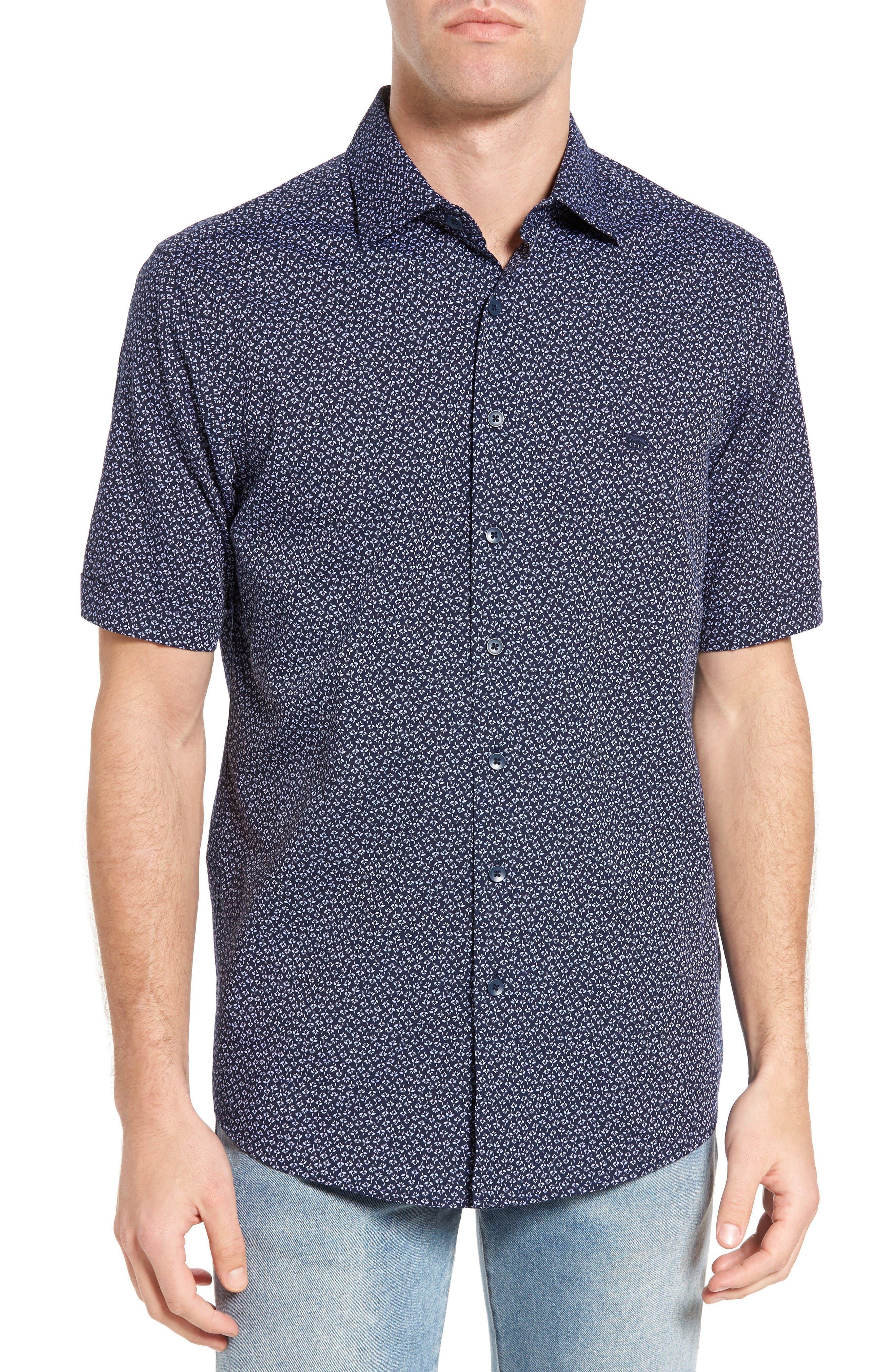 RODD & GUNN Petone Original Fit Floral Sport Shirt