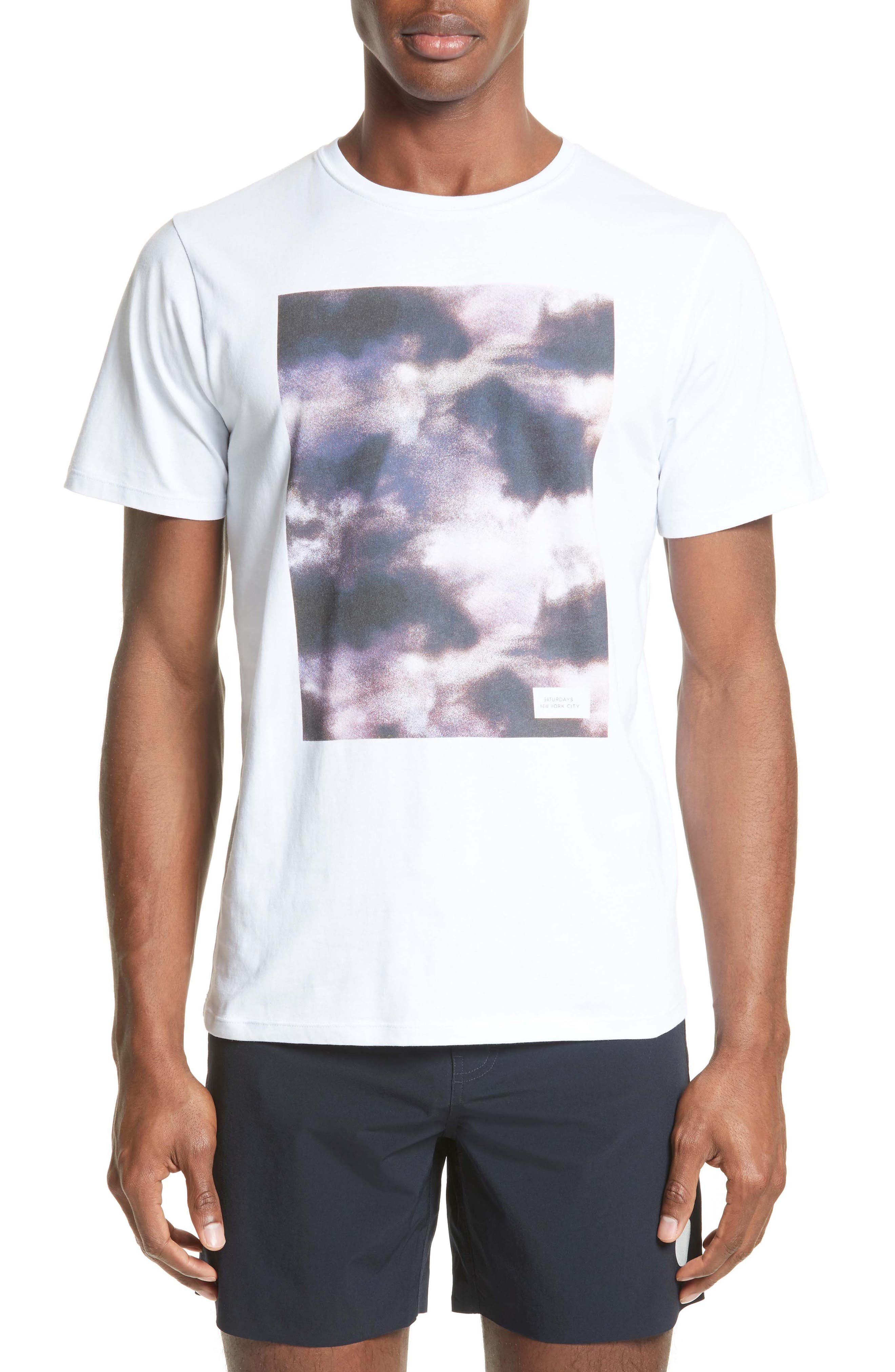 T-Shirt,                         Main,                         color, White