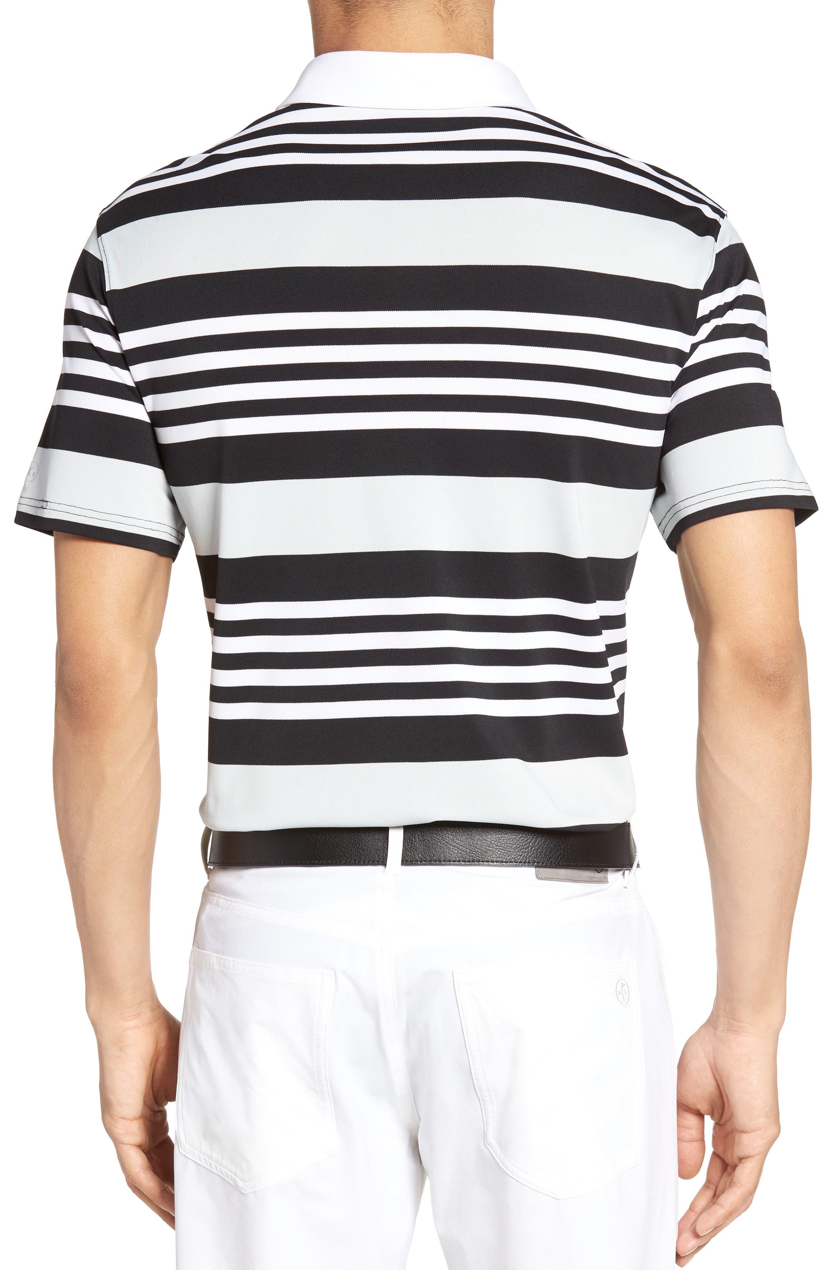 Alternate Image 2  - AG The Benson Stripe Piqué Polo