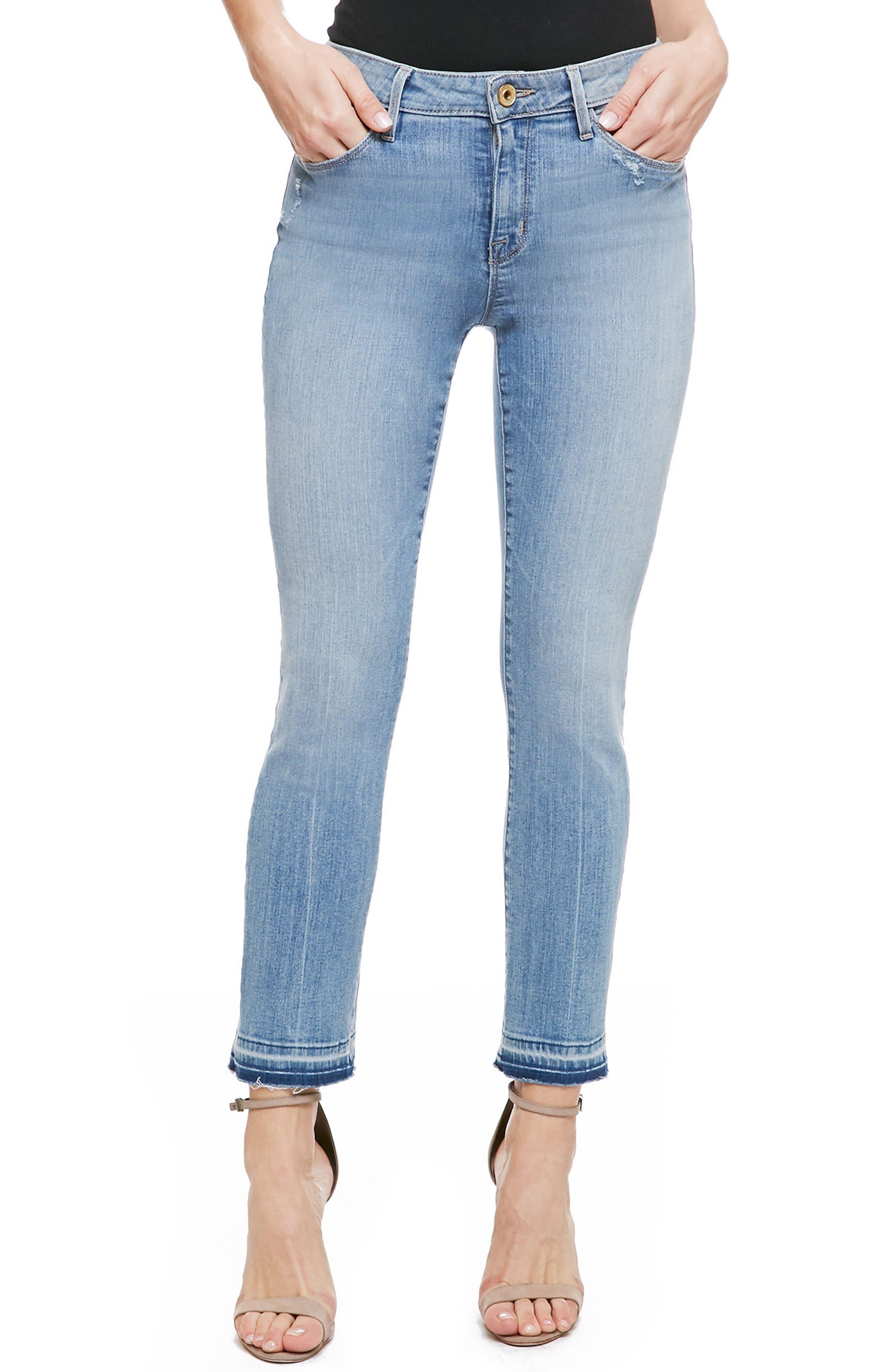 Main Image - Sanctuary Robbie Release Hem Crop Jeans (Sadie)