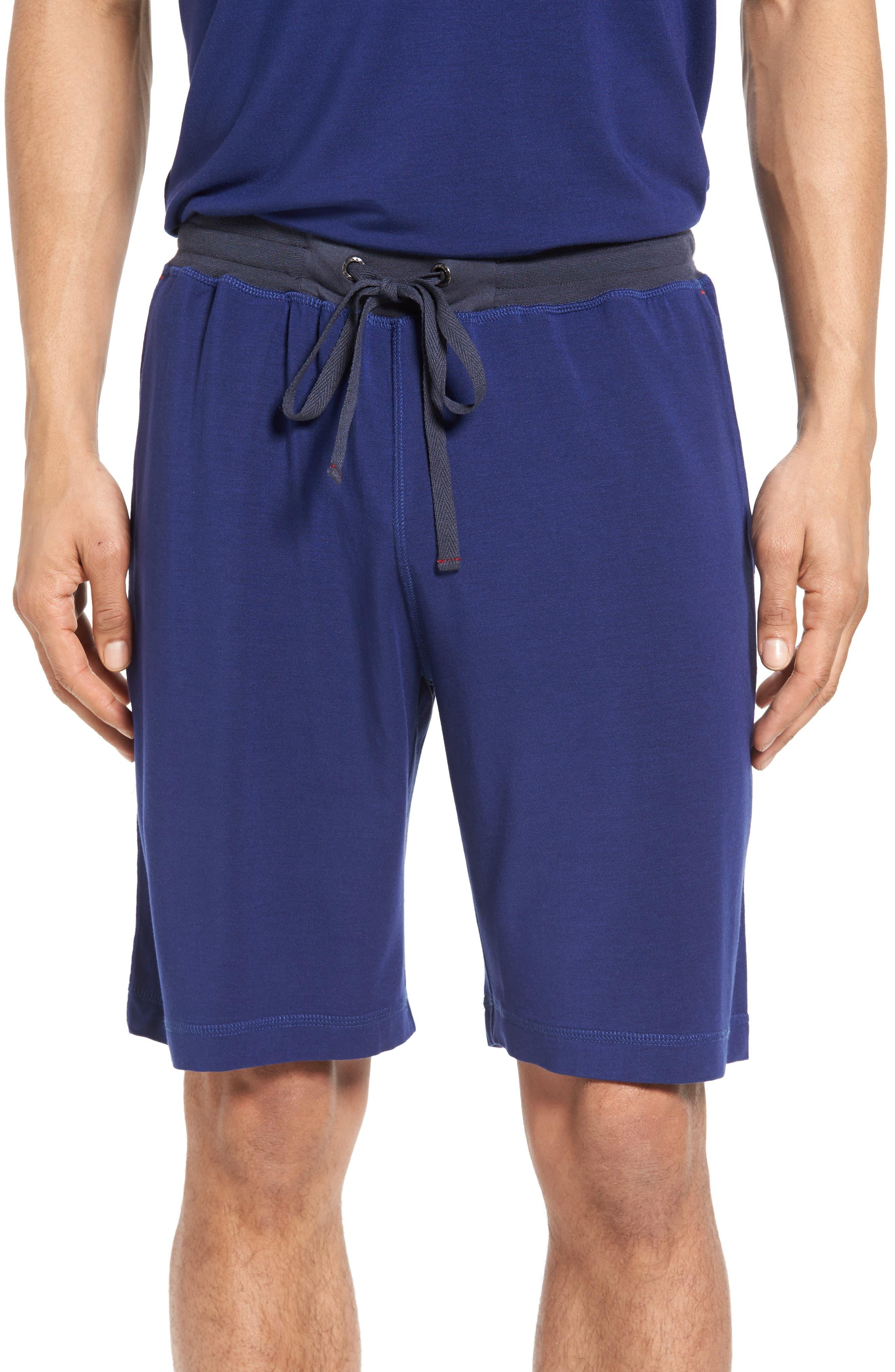Lounge Shorts,                         Main,                         color, Bright Blue