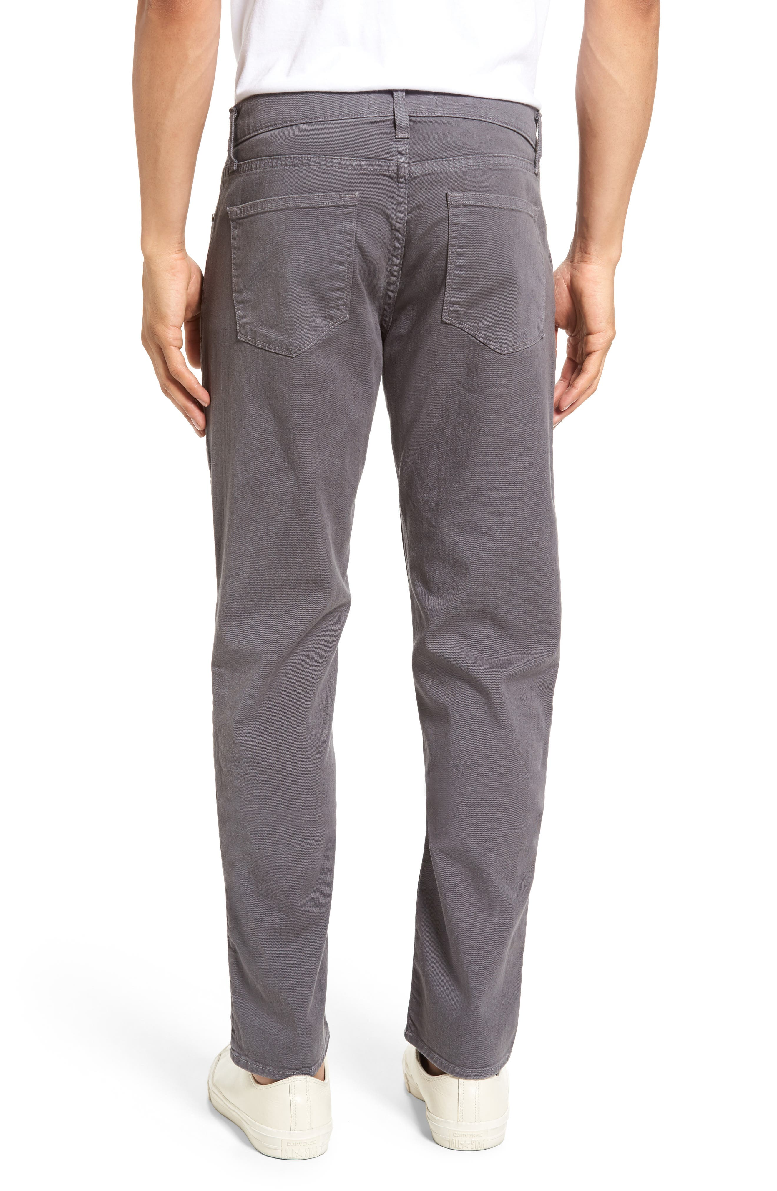 Tyler Slim Fit Jeans,                             Alternate thumbnail 2, color,                             Iron Gate