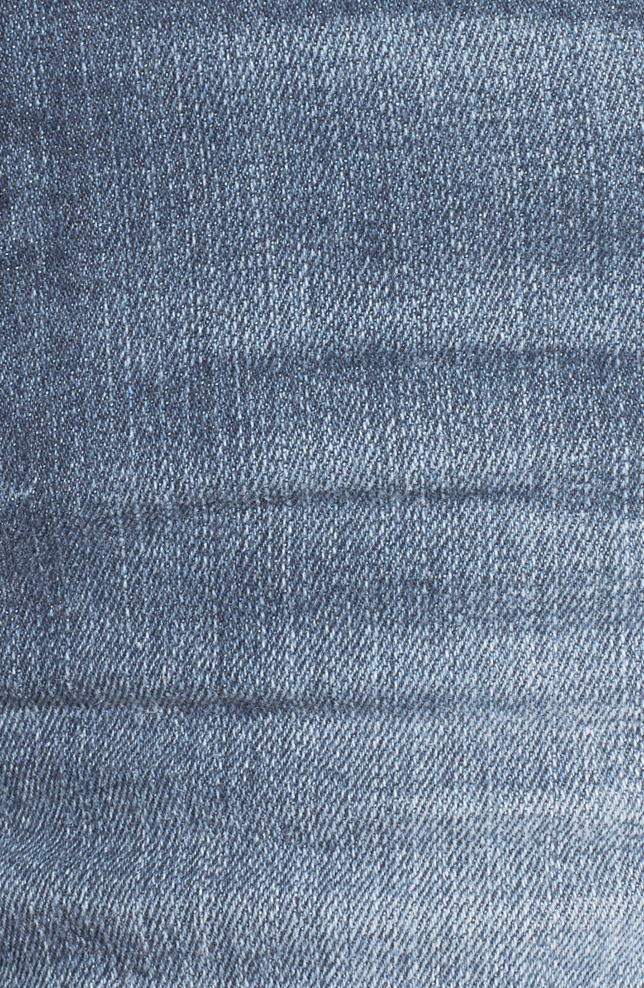 Rose Bowl Denim Shorts,                             Alternate thumbnail 6, color,                             East Volta