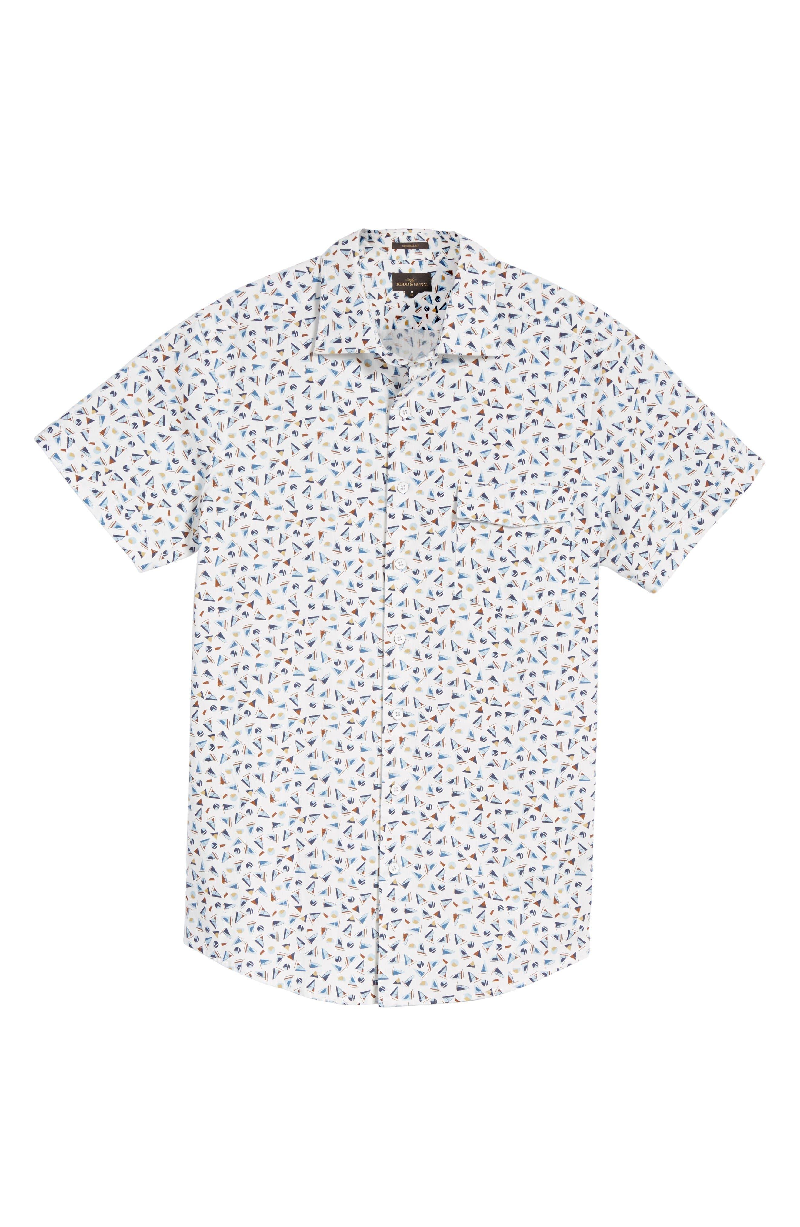 Alternate Image 6  - Rodd & Gunn Coal Island Original Fit Print Sport Shirt