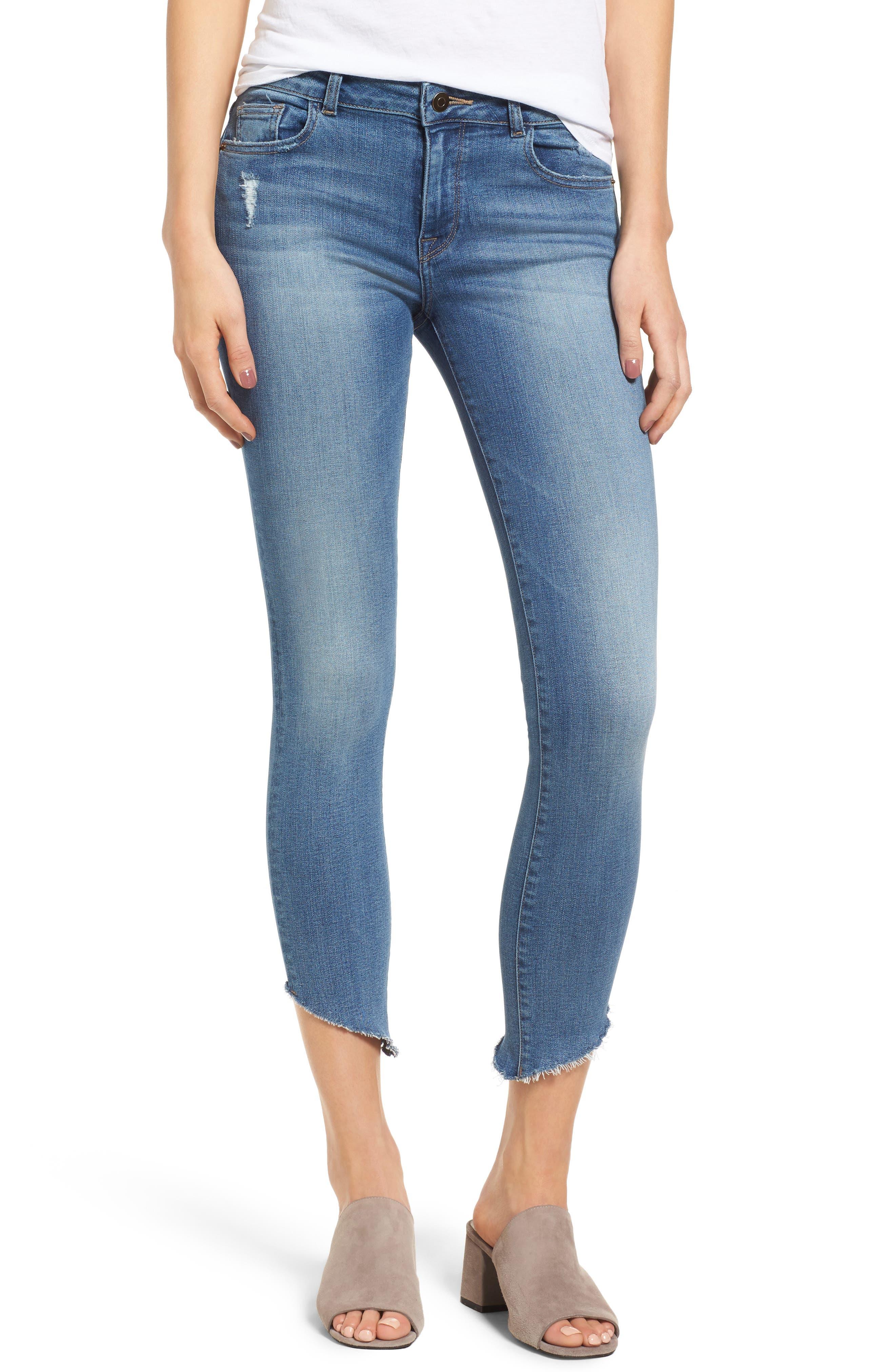 DL1961 Margaux Instasculpt Crop Skinny Jeans (Acetate)