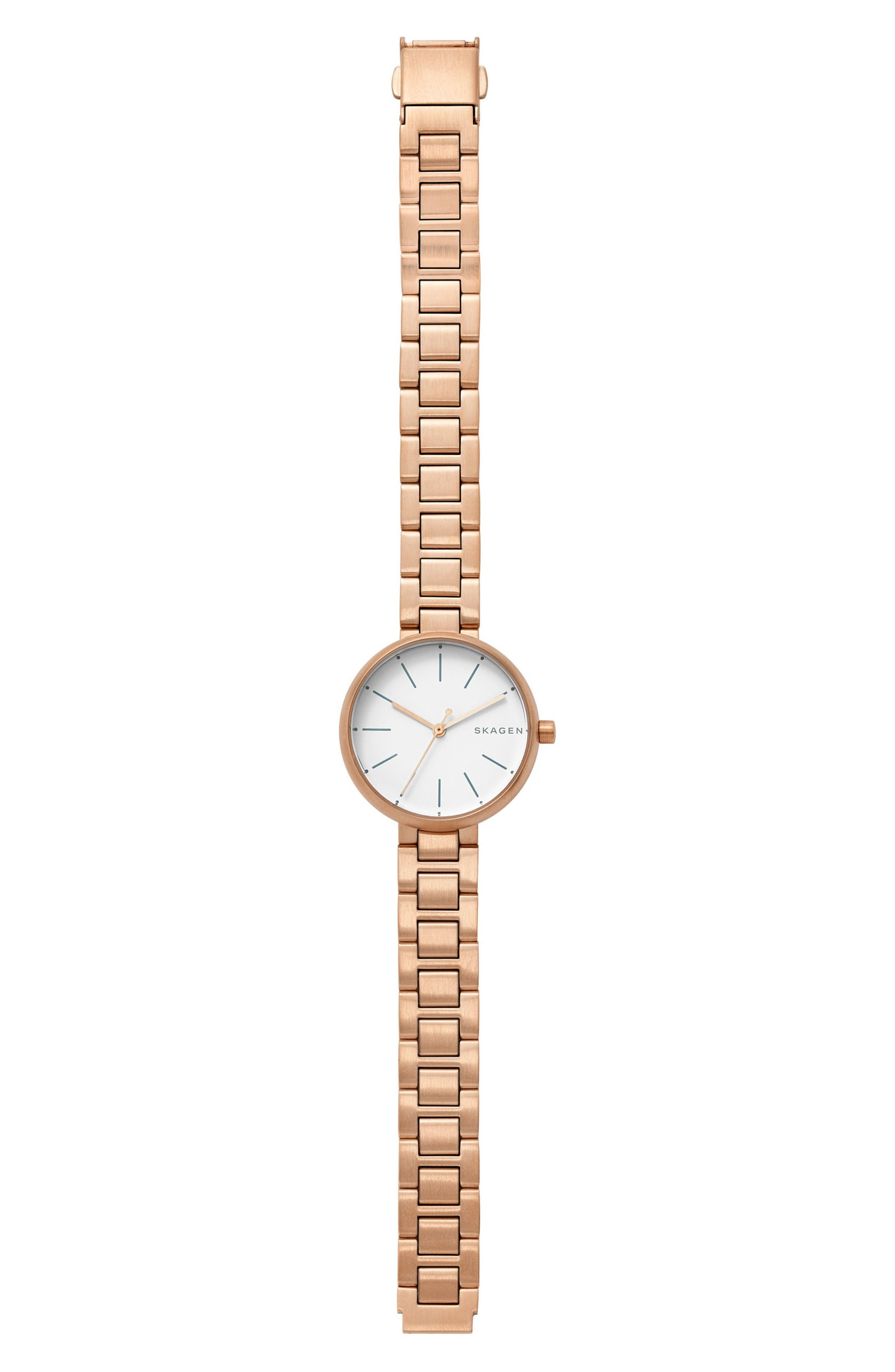 Alternate Image 2  - Skagen Signatur Bracelet Watch, 30mm