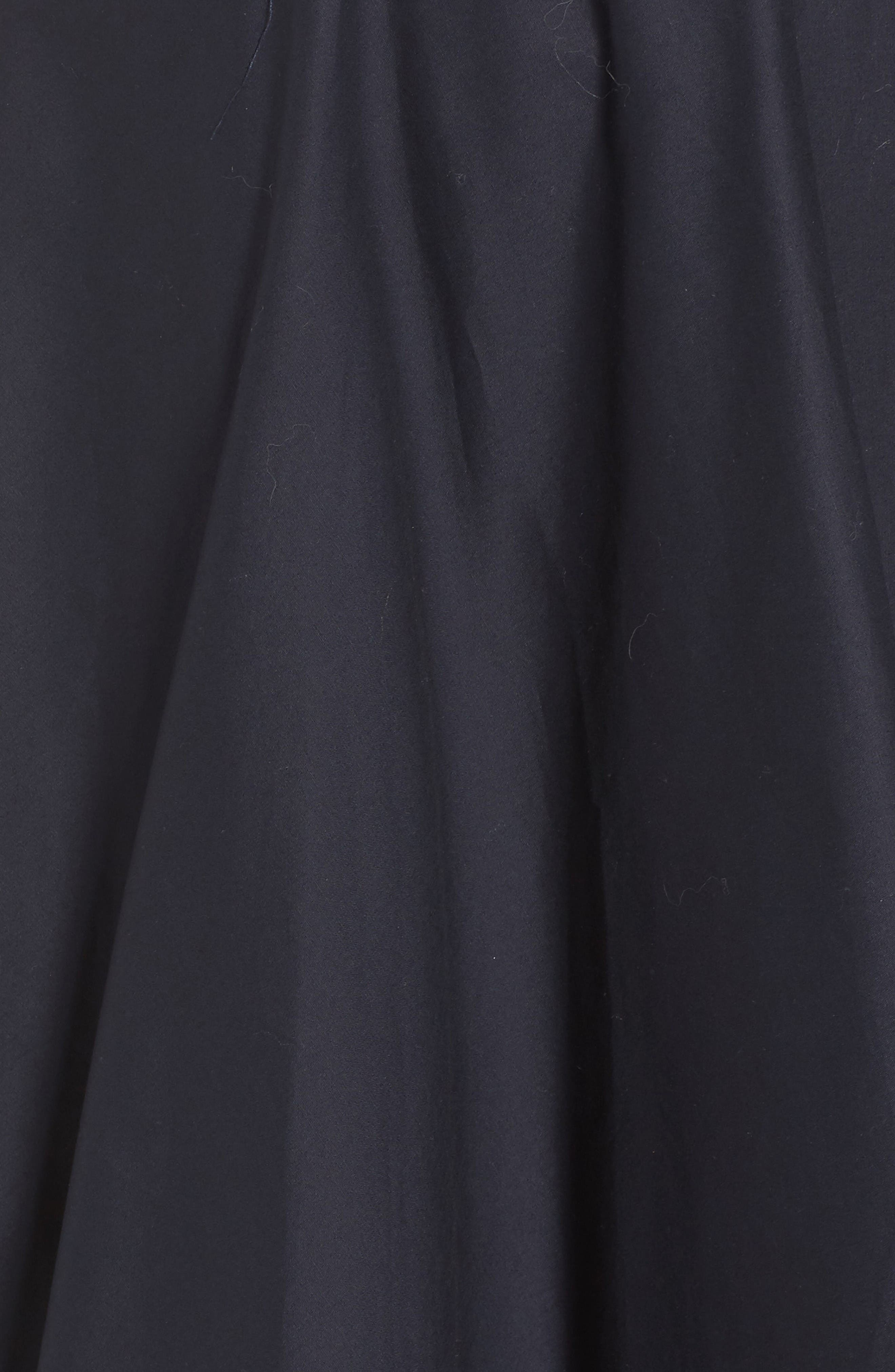 High/Low Dress,                             Alternate thumbnail 5, color,                             Navy