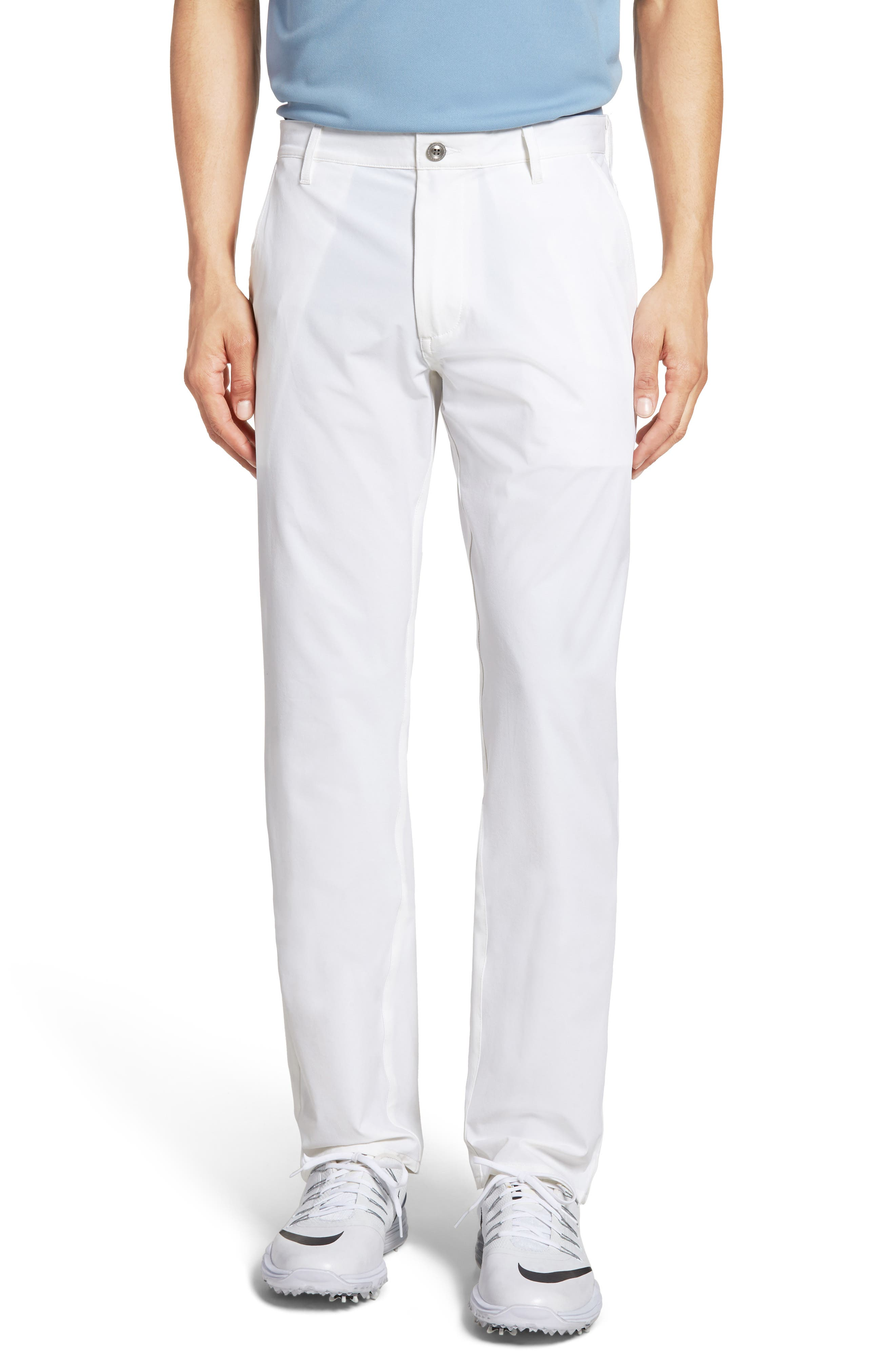 The Graduate Trousers,                             Main thumbnail 1, color,                             Bright White