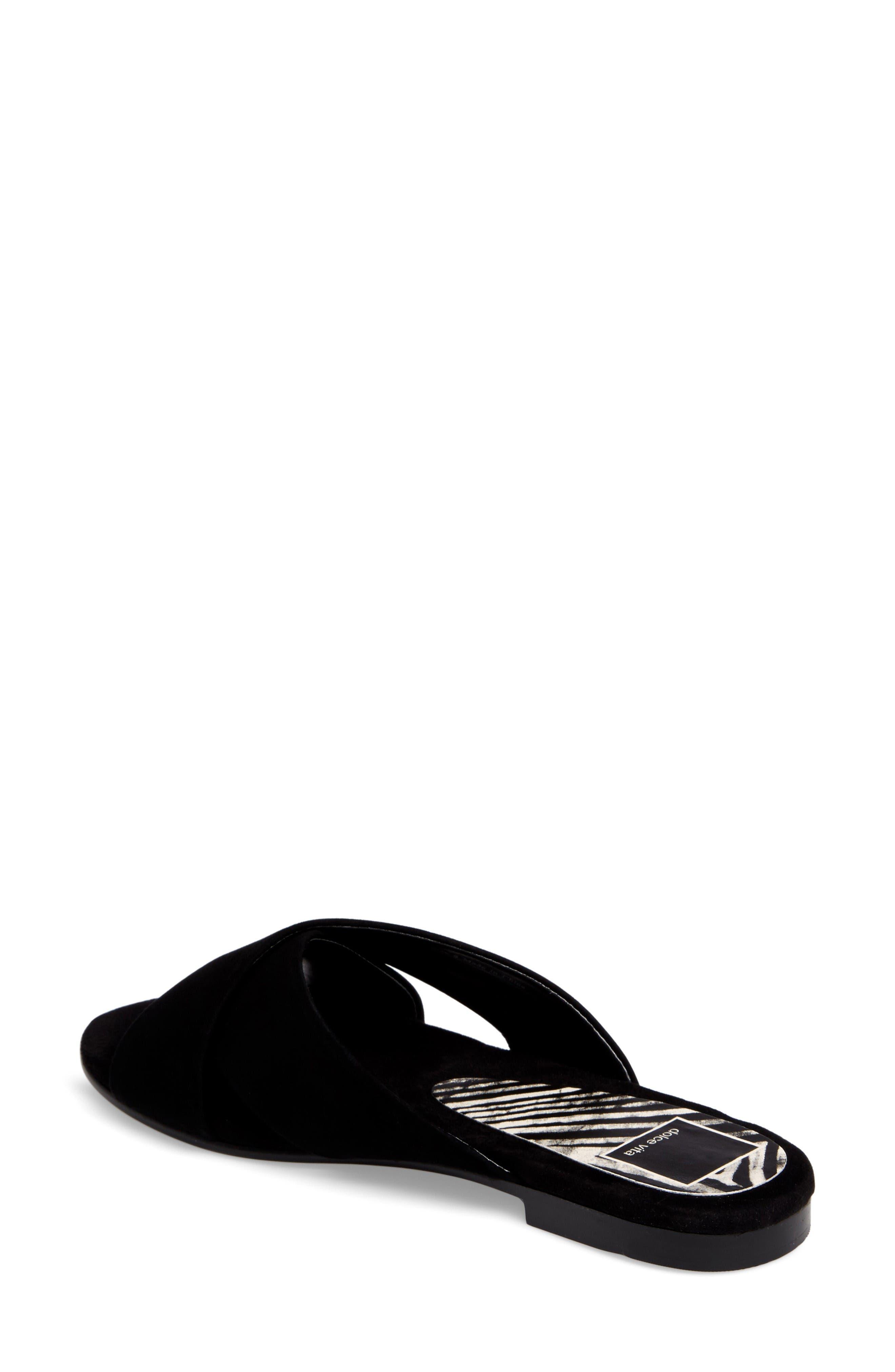 Alternate Image 2  - Dolce Vita Cross Strap Slide Sandal (Women)