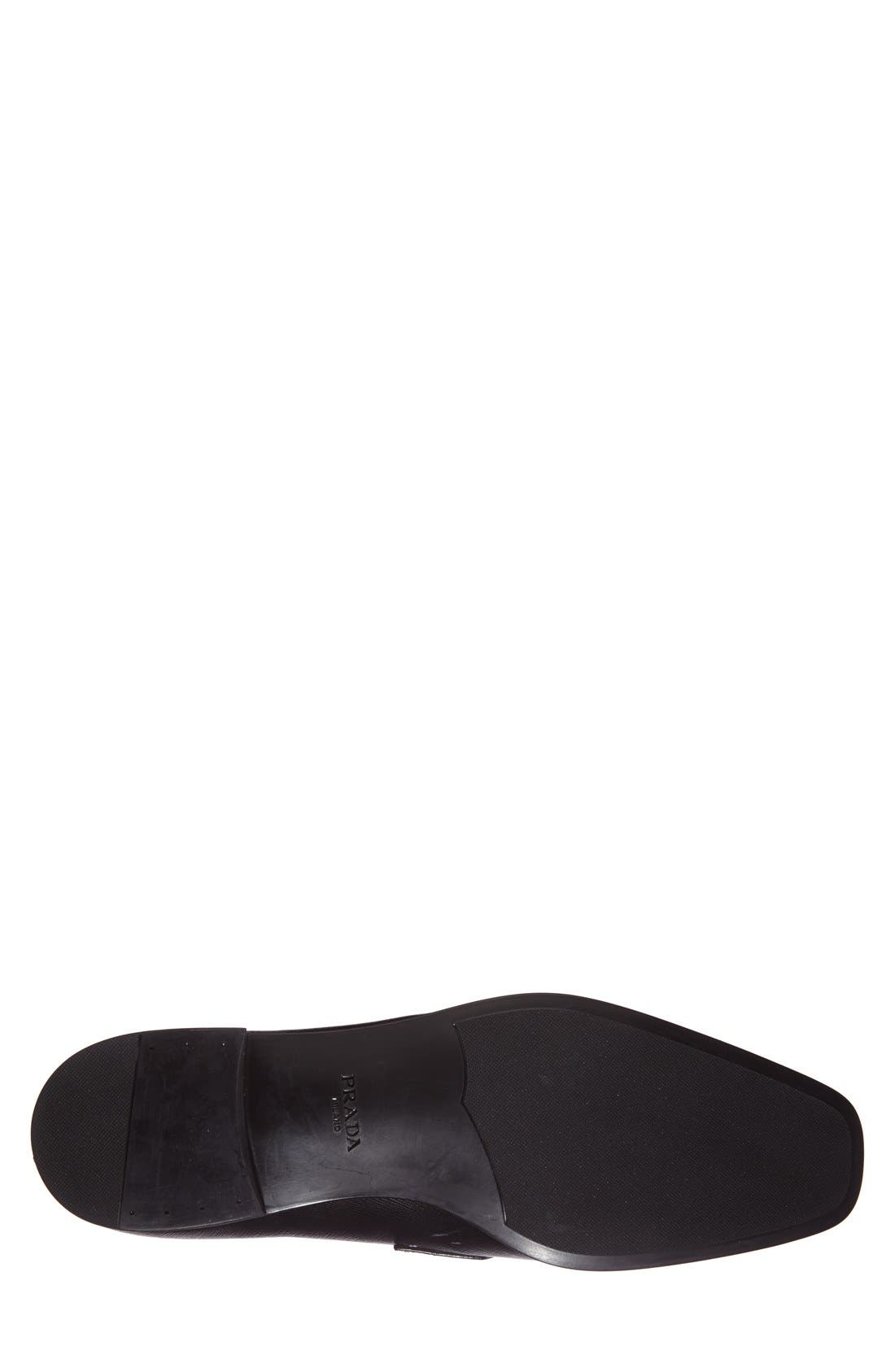 Alternate Image 4  - Prada Saffiano Leather Penny Loafer (Men)