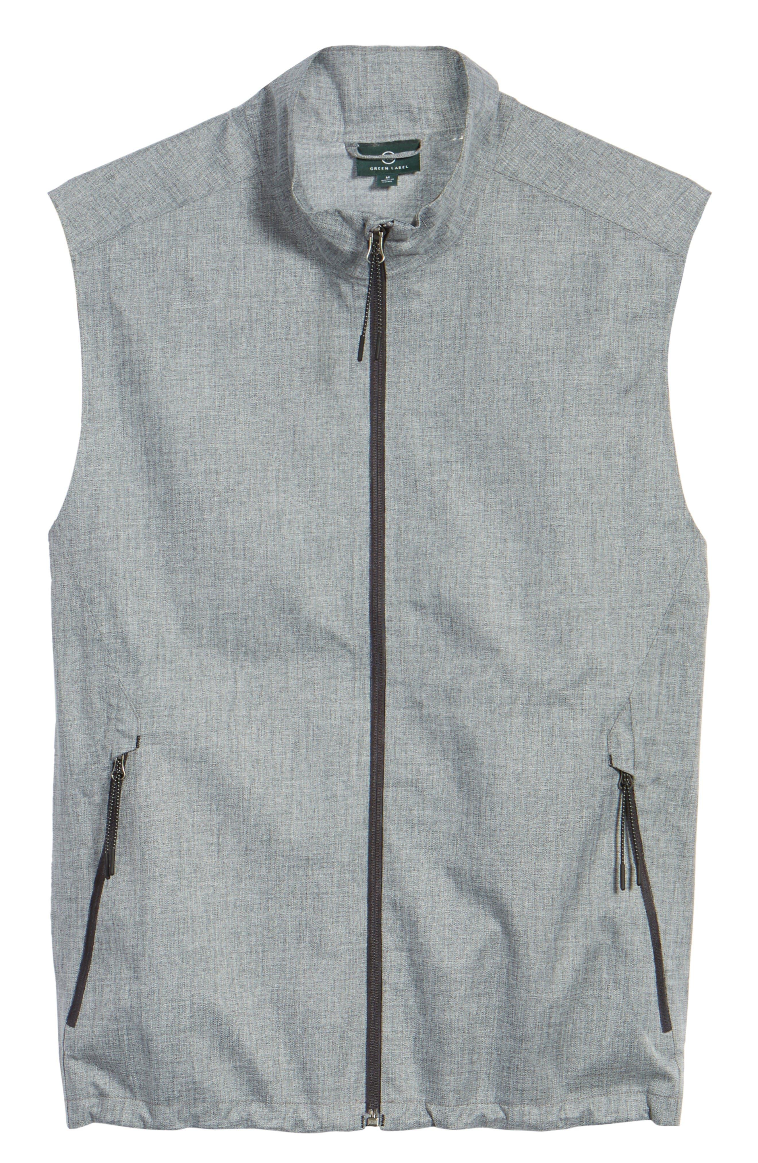 The Newton Vest,                             Alternate thumbnail 6, color,                             Heather Grey