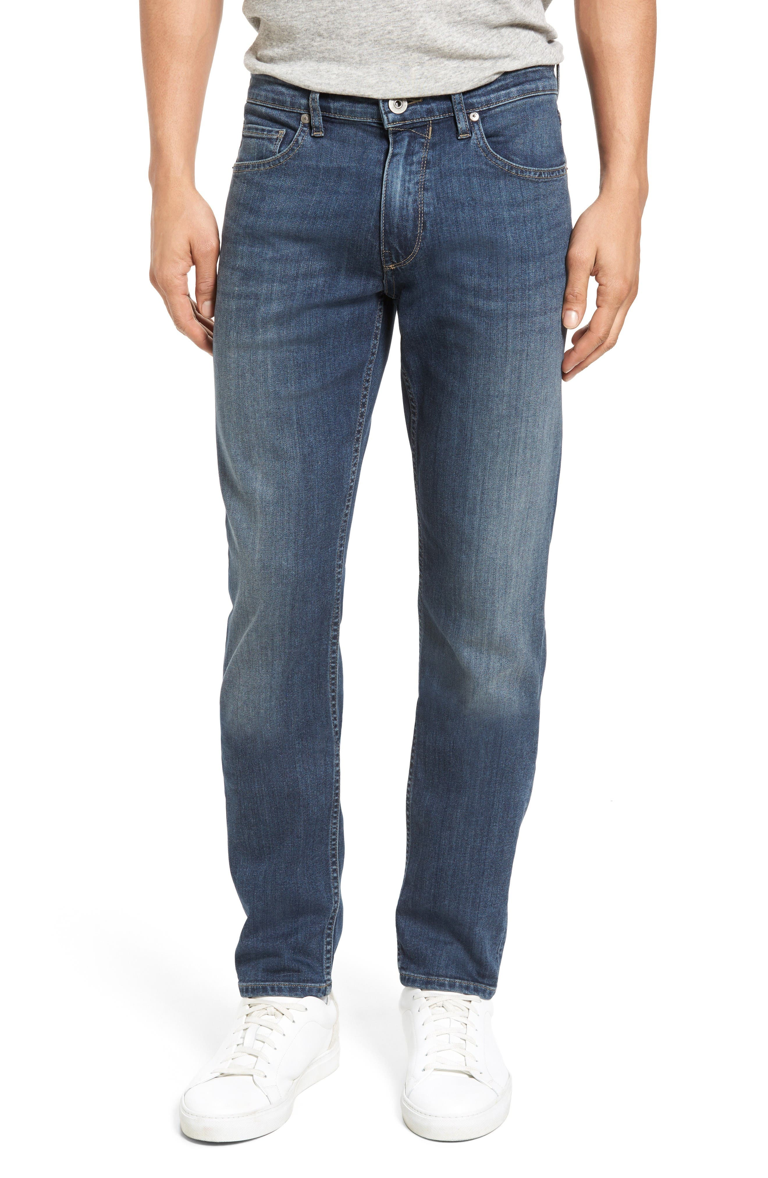 Transcend - Lennox Slim Fit Jeans,                             Main thumbnail 1, color,                             Elwood