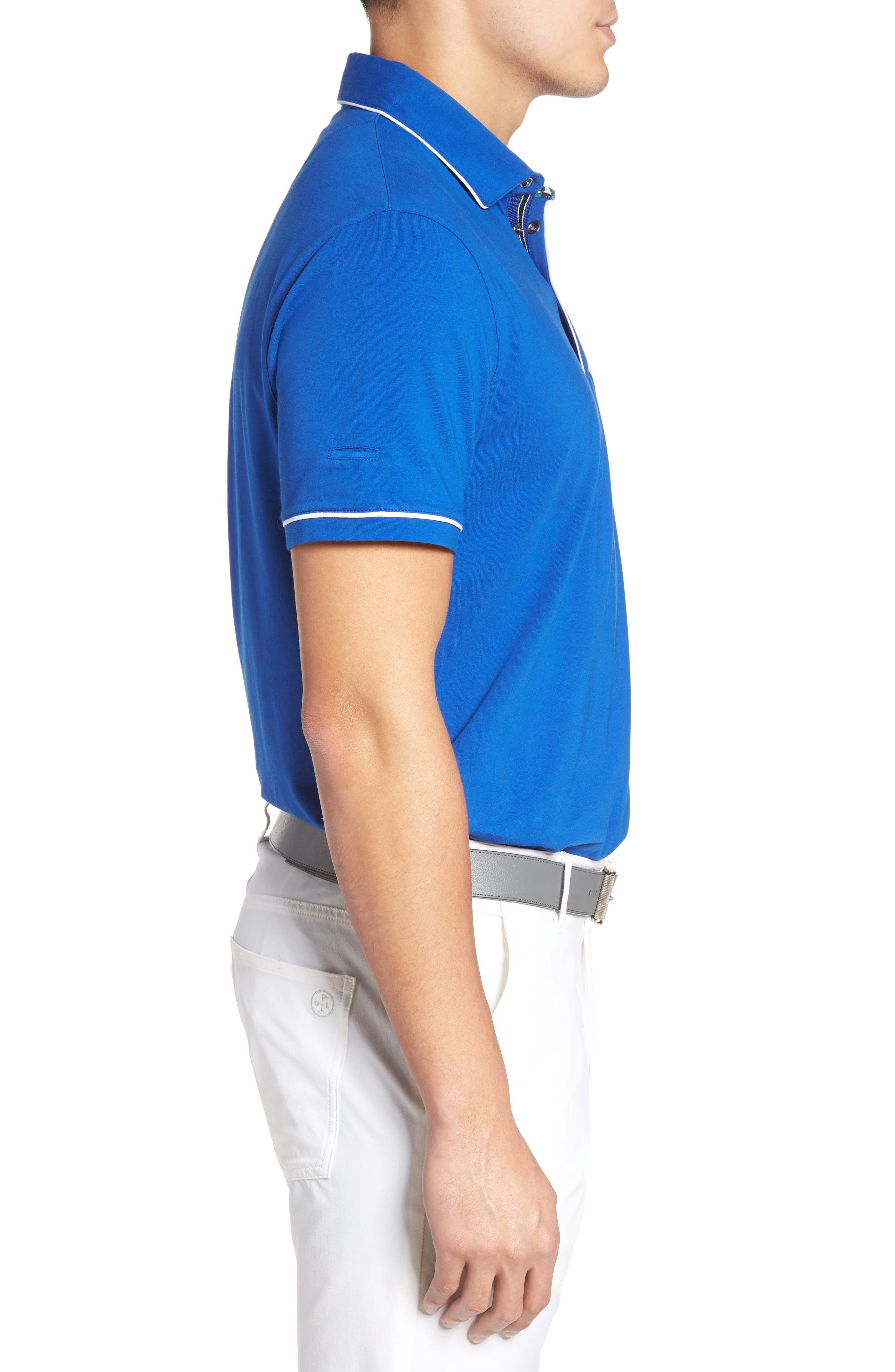 Alternate Image 3  - Ted Baker London Playgo Piped Trim Golf Polo