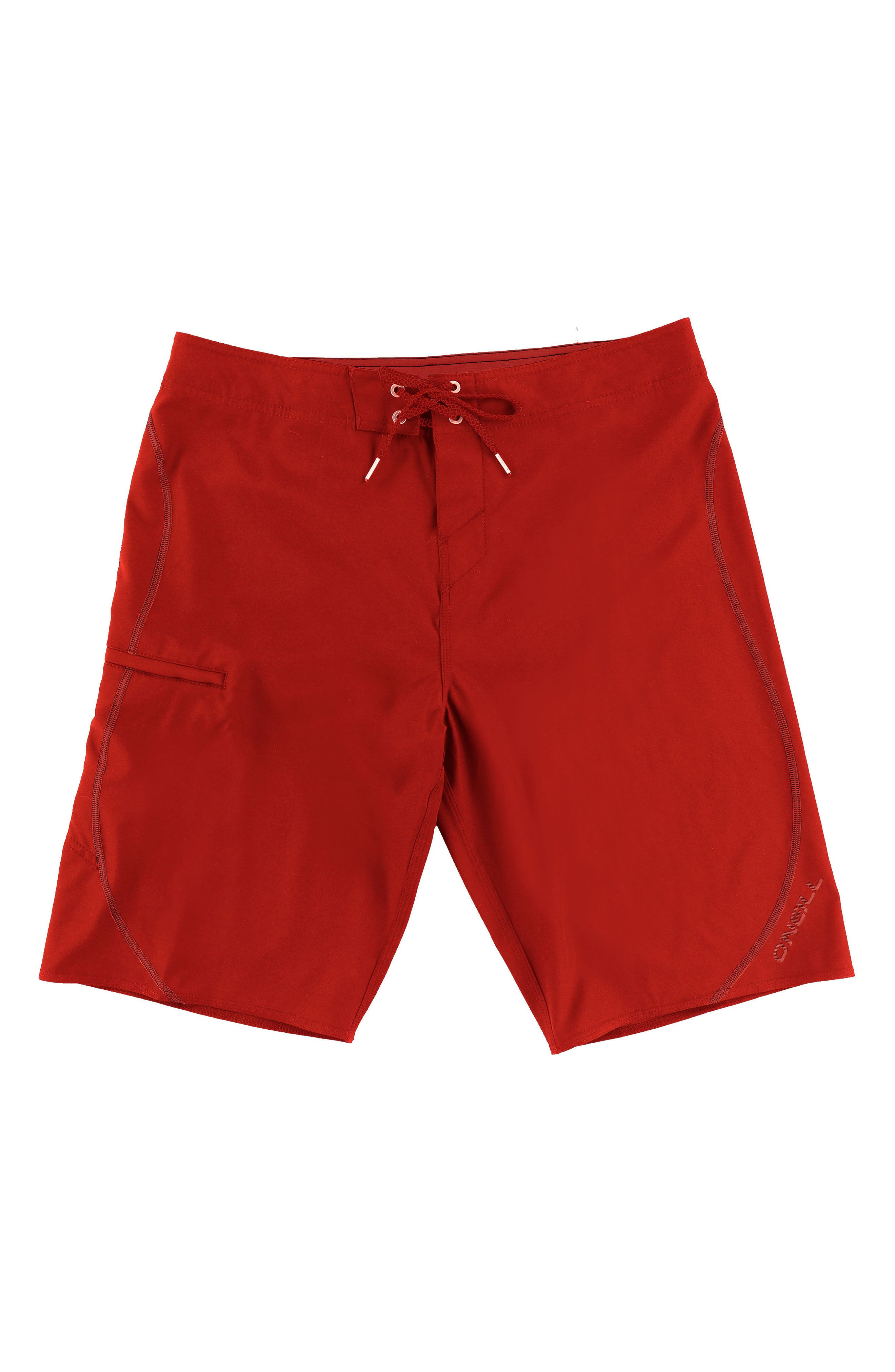 Hyperfreak S-Seam Stretch Board Shorts,                             Main thumbnail 1, color,                             Red