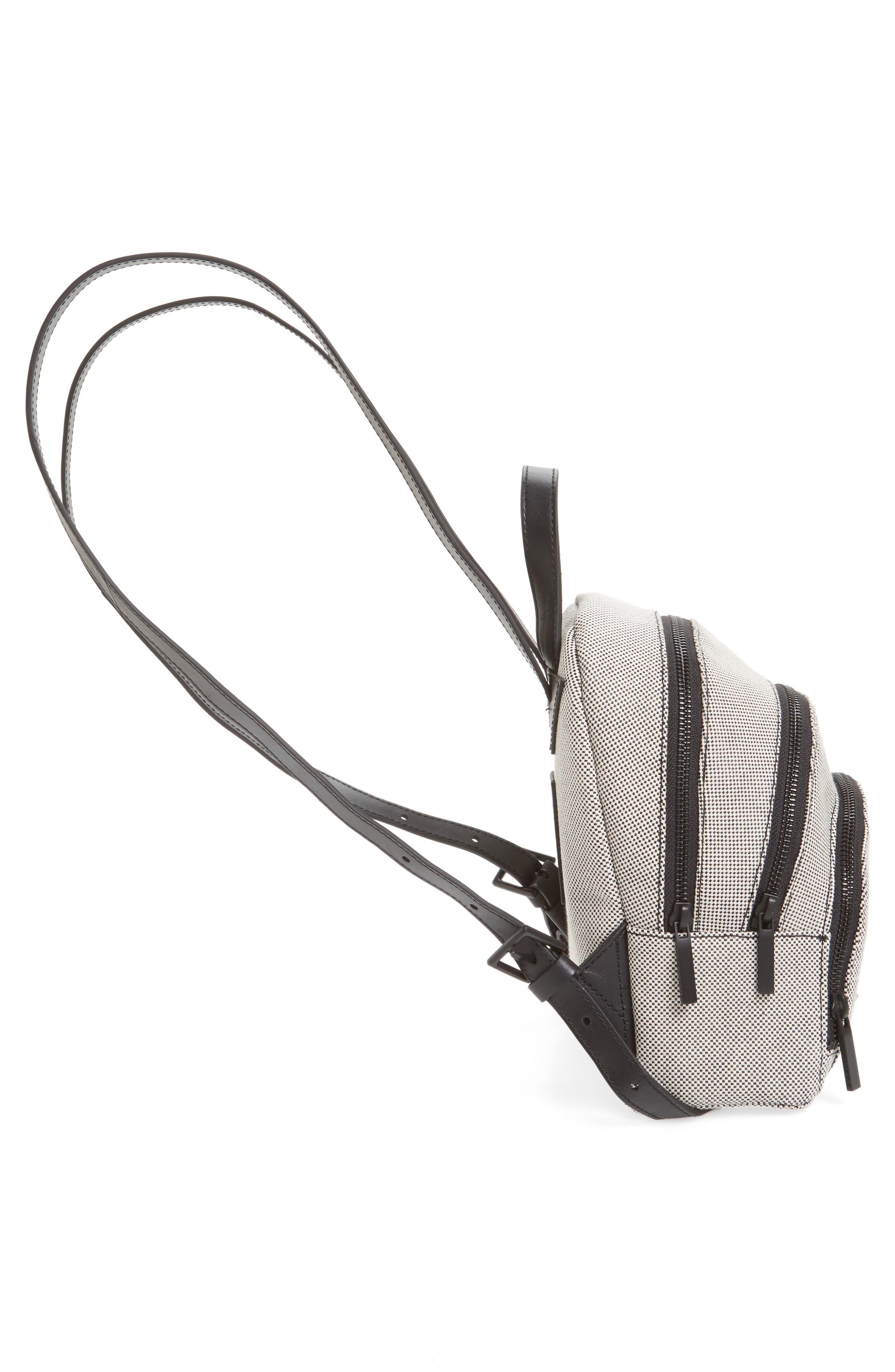 Alternate Image 5  - KENDALL + KYLIE Mini Sloane Canvas Backpack
