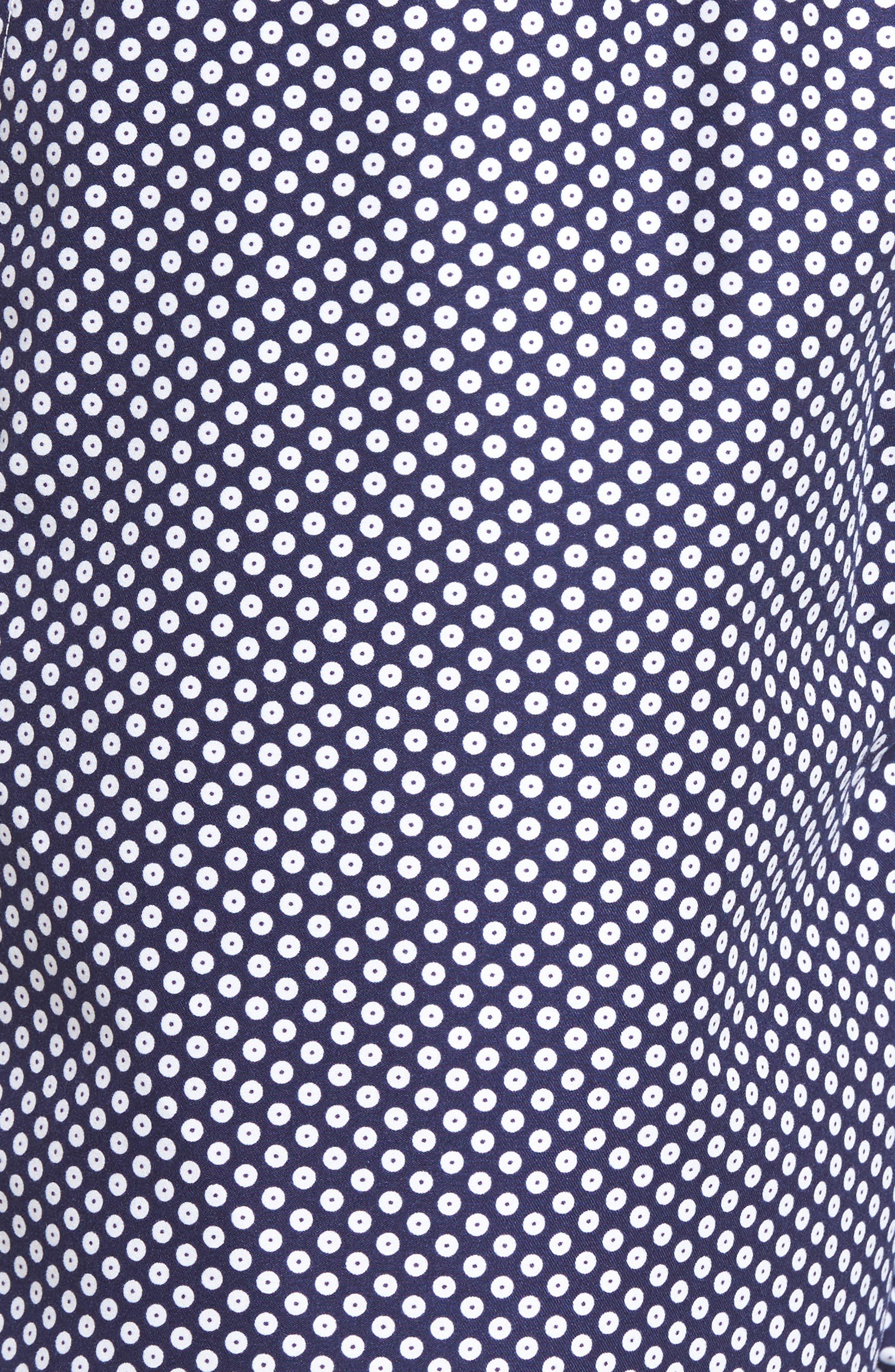 Alternate Image 5  - Peter Millar Cape Dot Swim Trunks