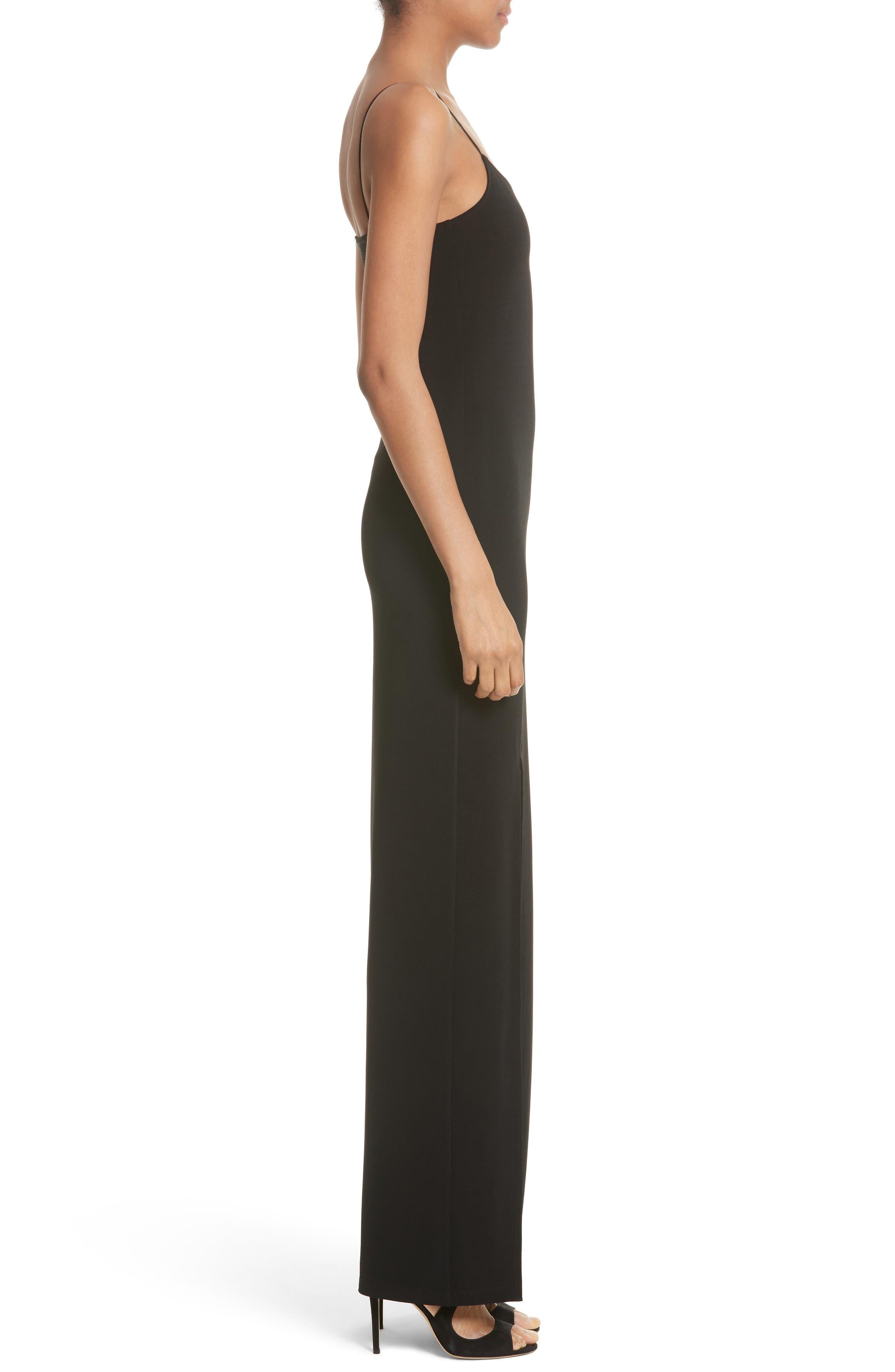 Alternate Image 3  - Alice + Olivia Addie Stretch Knit Maxi Dress