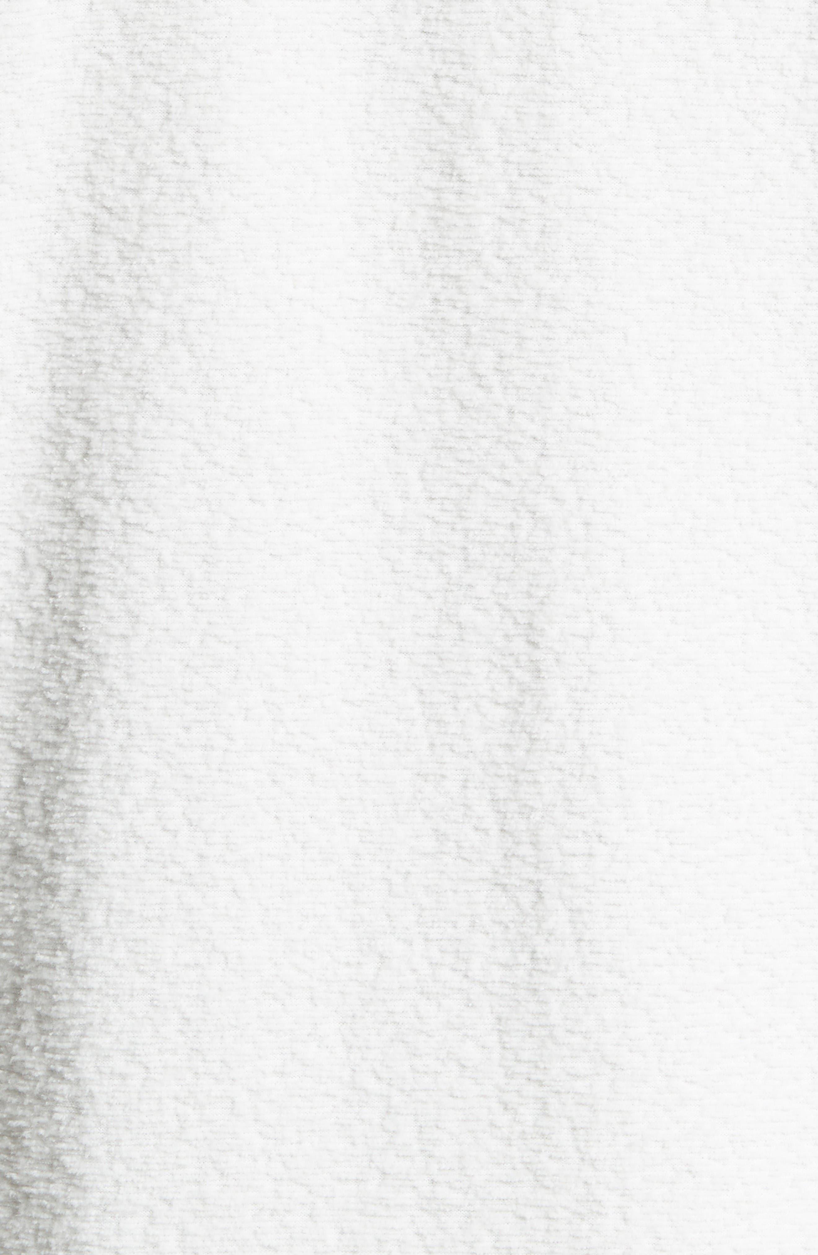 Bouclé Pocket T-Shirt,                             Alternate thumbnail 5, color,                             White