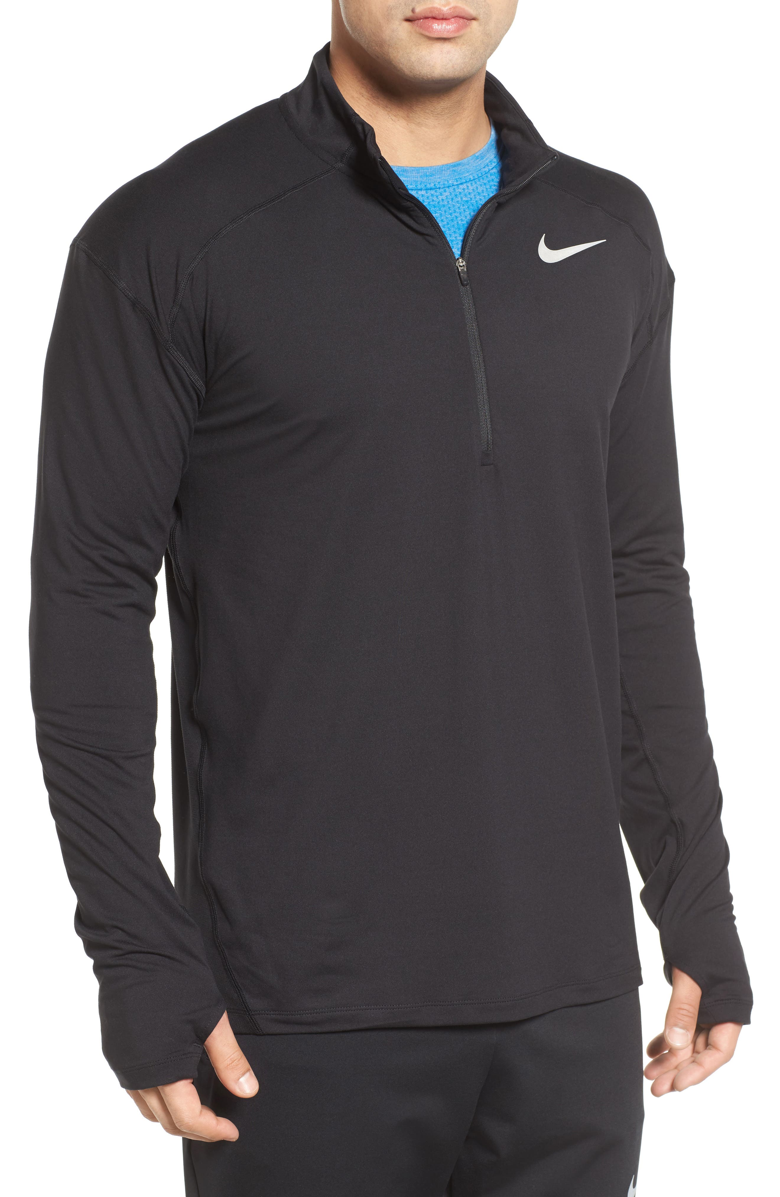 Dry Element Running Top,                         Main,                         color, Black