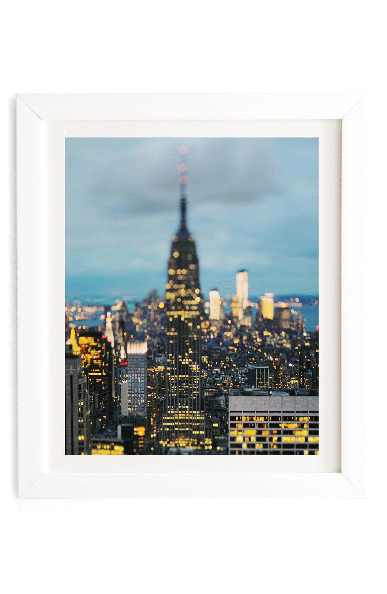 Main Image - Deny Designs Empire Framed Wall Art