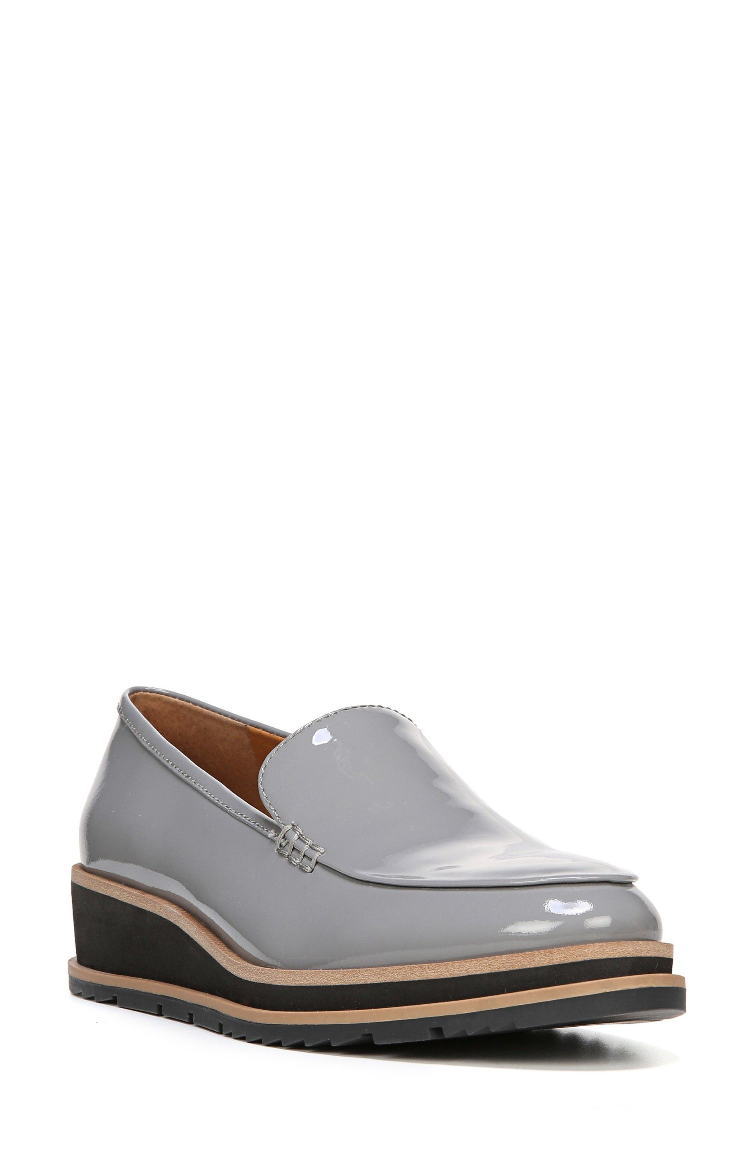 Ayers Loafer Flat,                         Main,                         color, Grey Patent