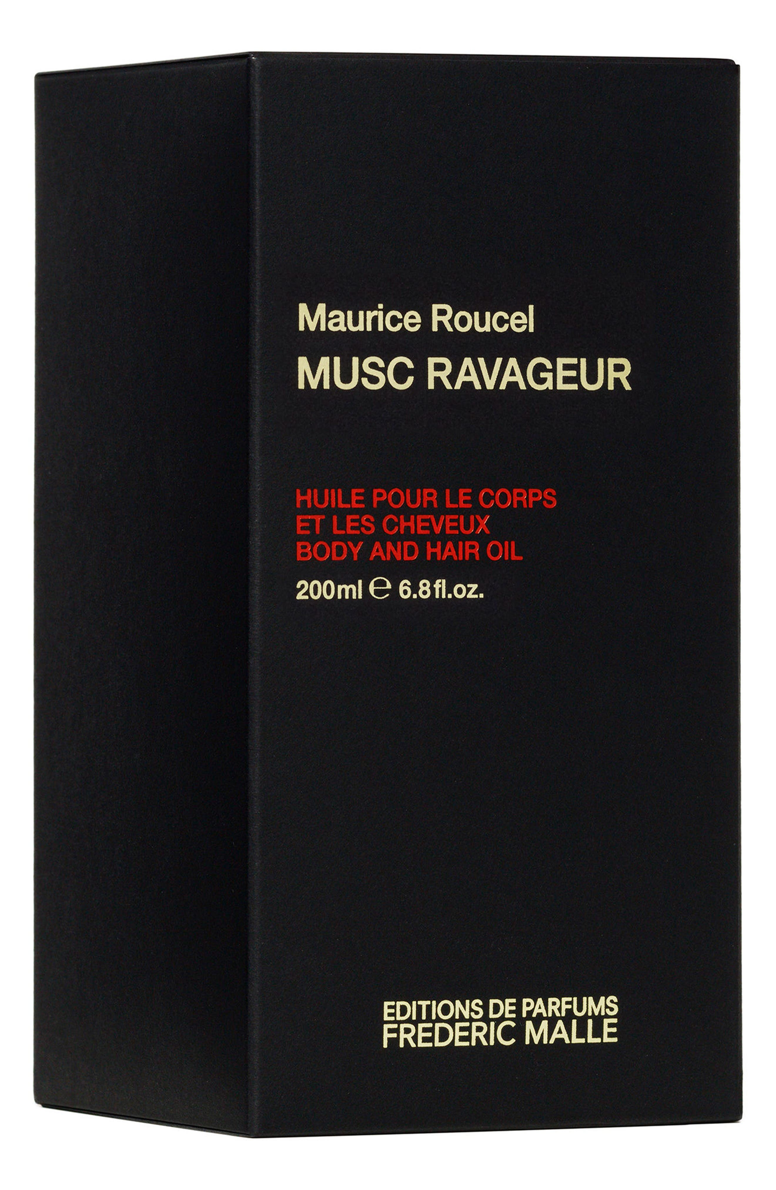 Editions de Parfums Frédéric Malle Musc Ravageur Body & Hair Oil,                             Alternate thumbnail 2, color,                             No Color