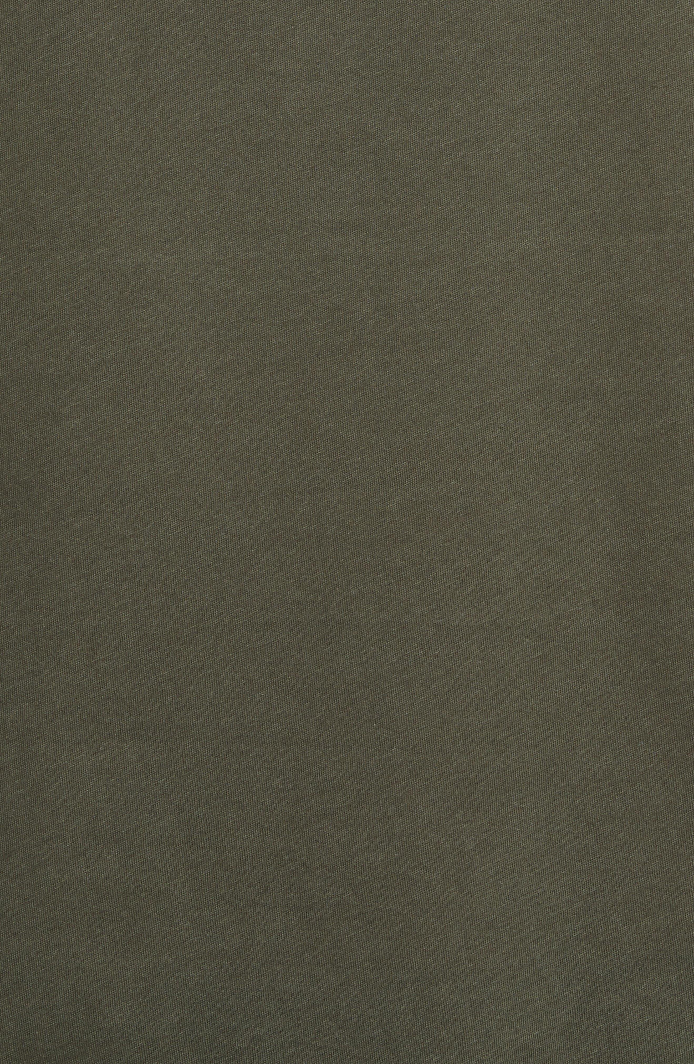 Alternate Image 5  - The Kooples Leather Pocket T-Shirt