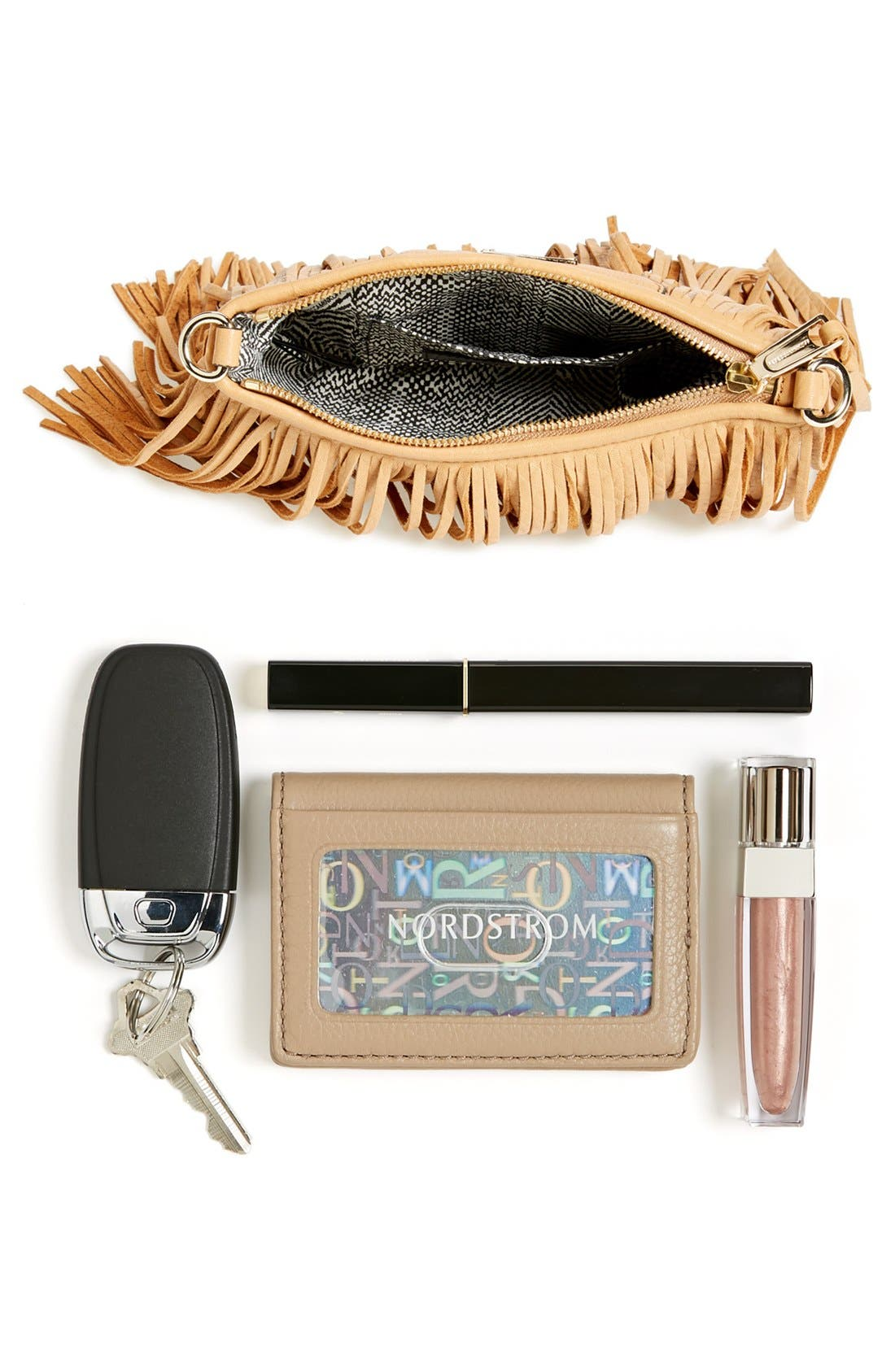 Alternate Image 7  - Rebecca Minkoff 'Finn' Convertible Leather Clutch