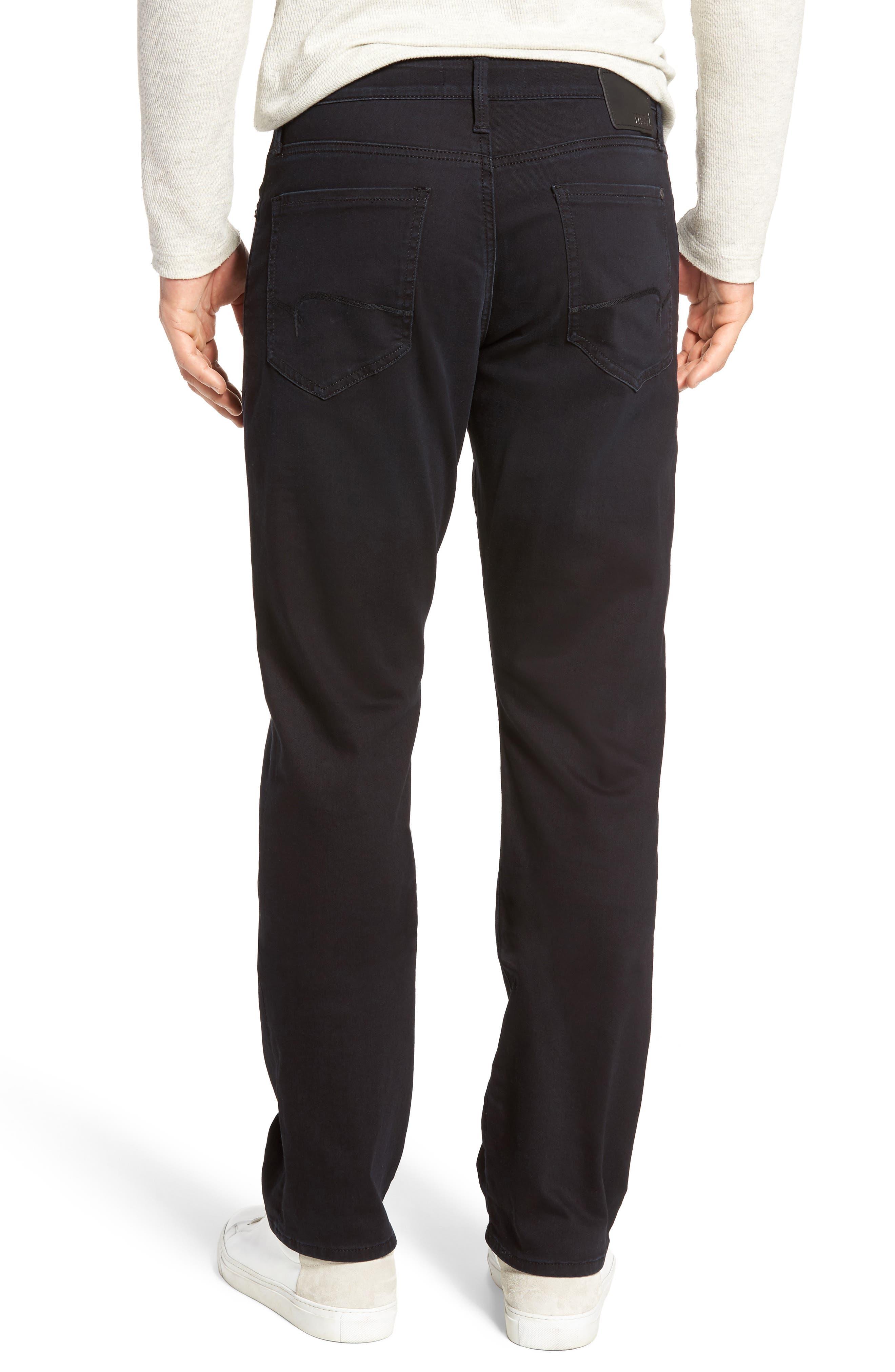 Matt Relaxed Fit Jeans,                             Alternate thumbnail 2, color,                             Blue Black