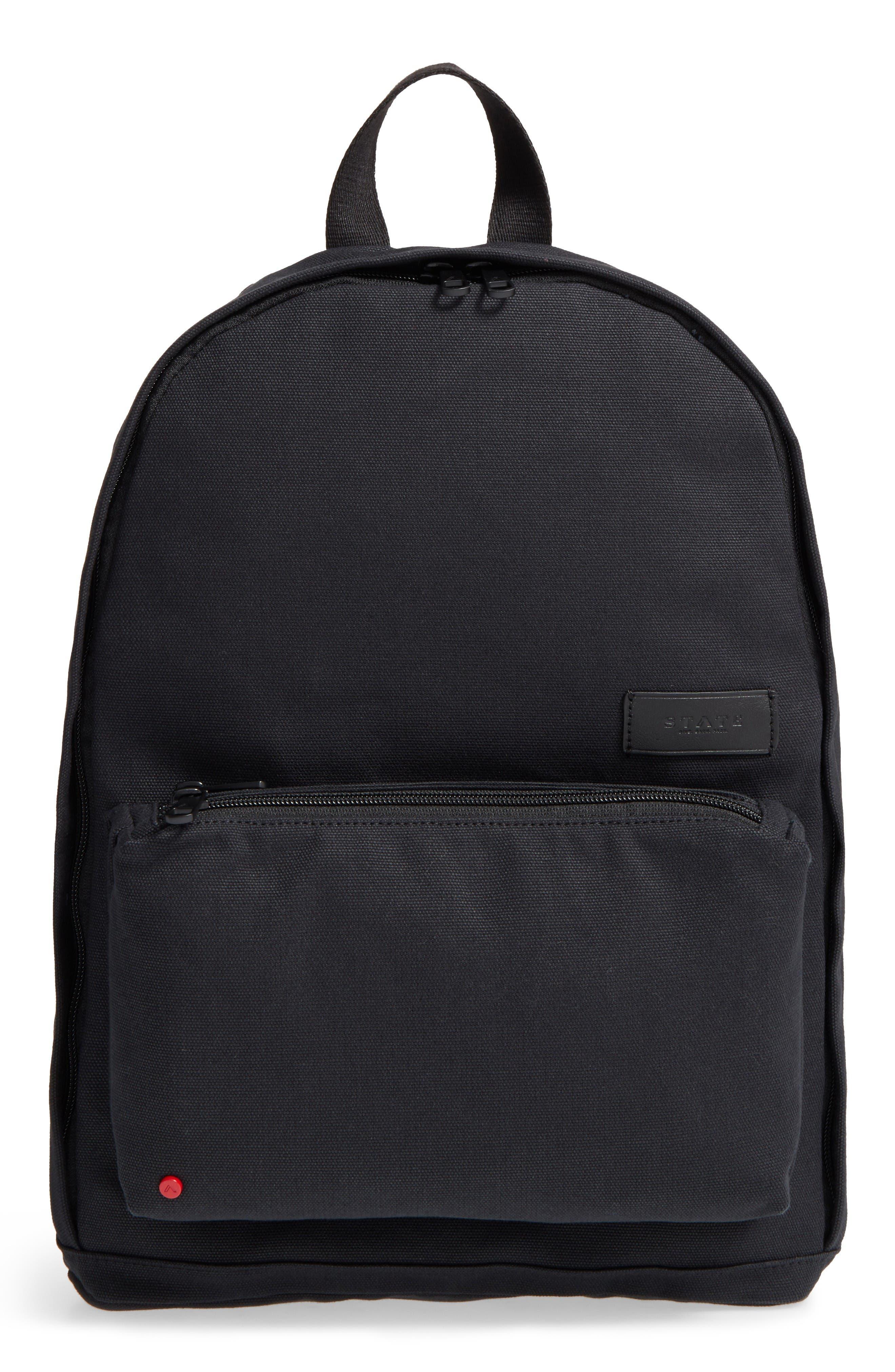 Main Image - STATE Bags Canvas Slim Lorimer Backpack