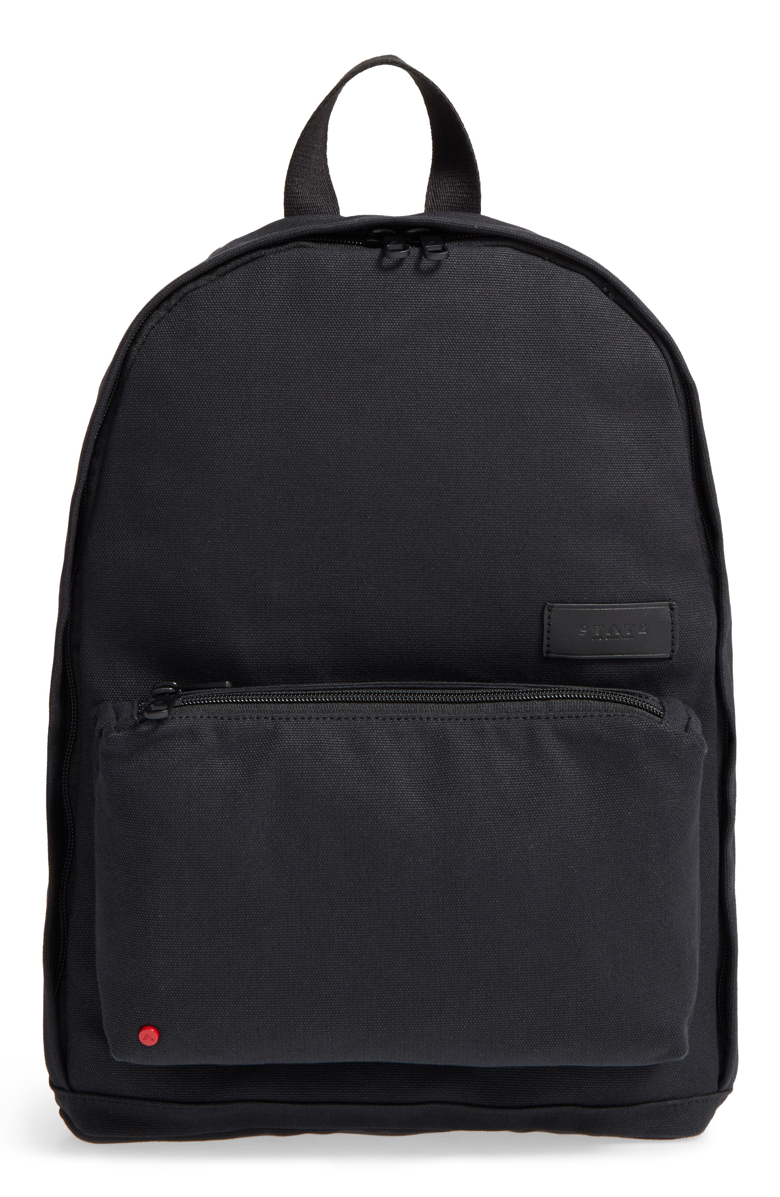 STATE Bags Canvas Slim Lorimer Backpack