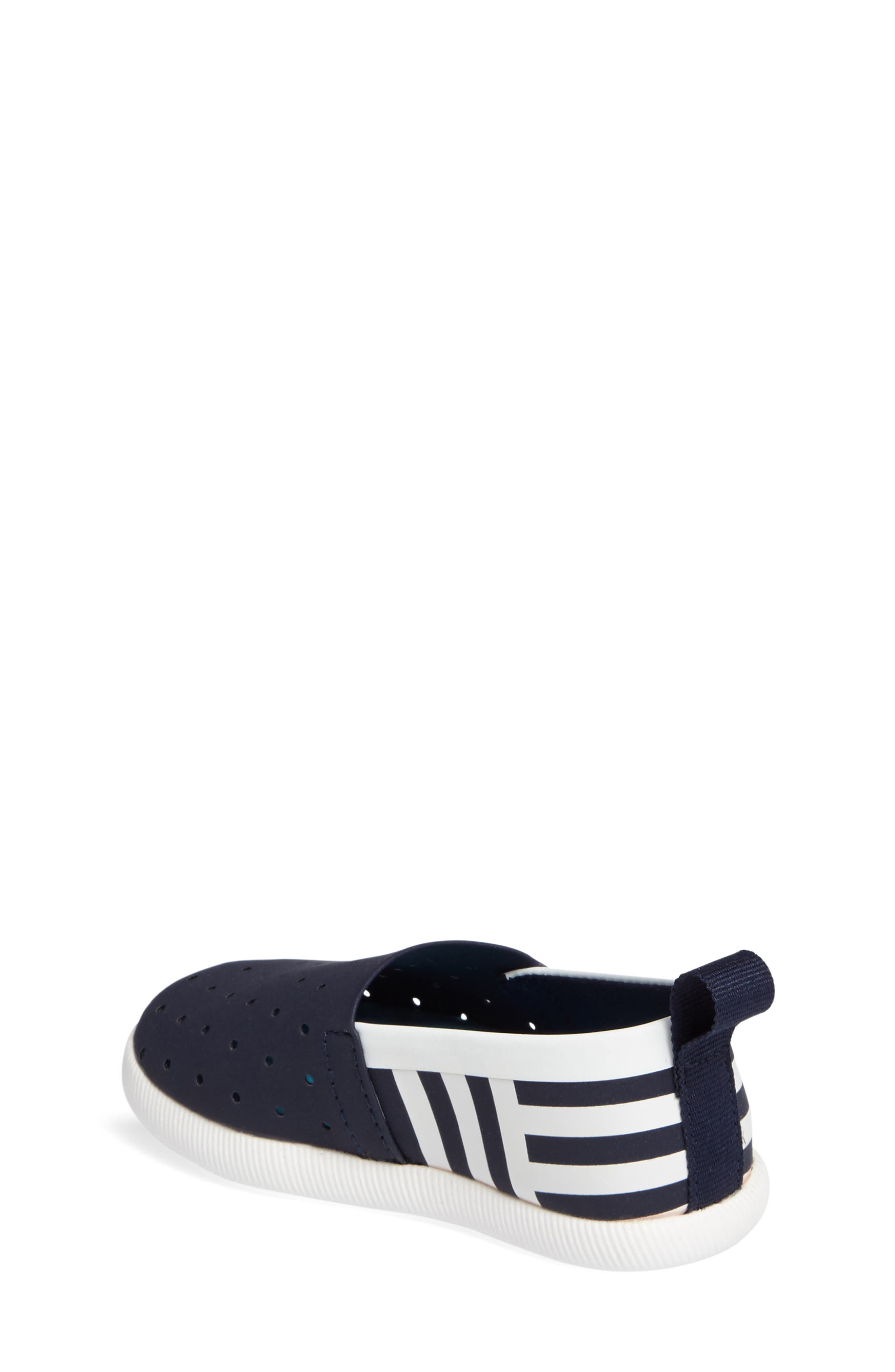 Venice Stripe Slip-On,                             Alternate thumbnail 2, color,                             Regatta Blue/ White/ Stripe