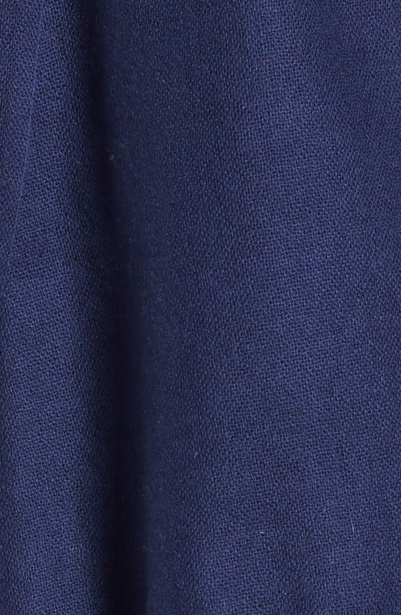Caslon<sup>®</sup> Heathered Cashmere Gauze Scarf,                             Alternate thumbnail 3, color,                             Navy Peacoat