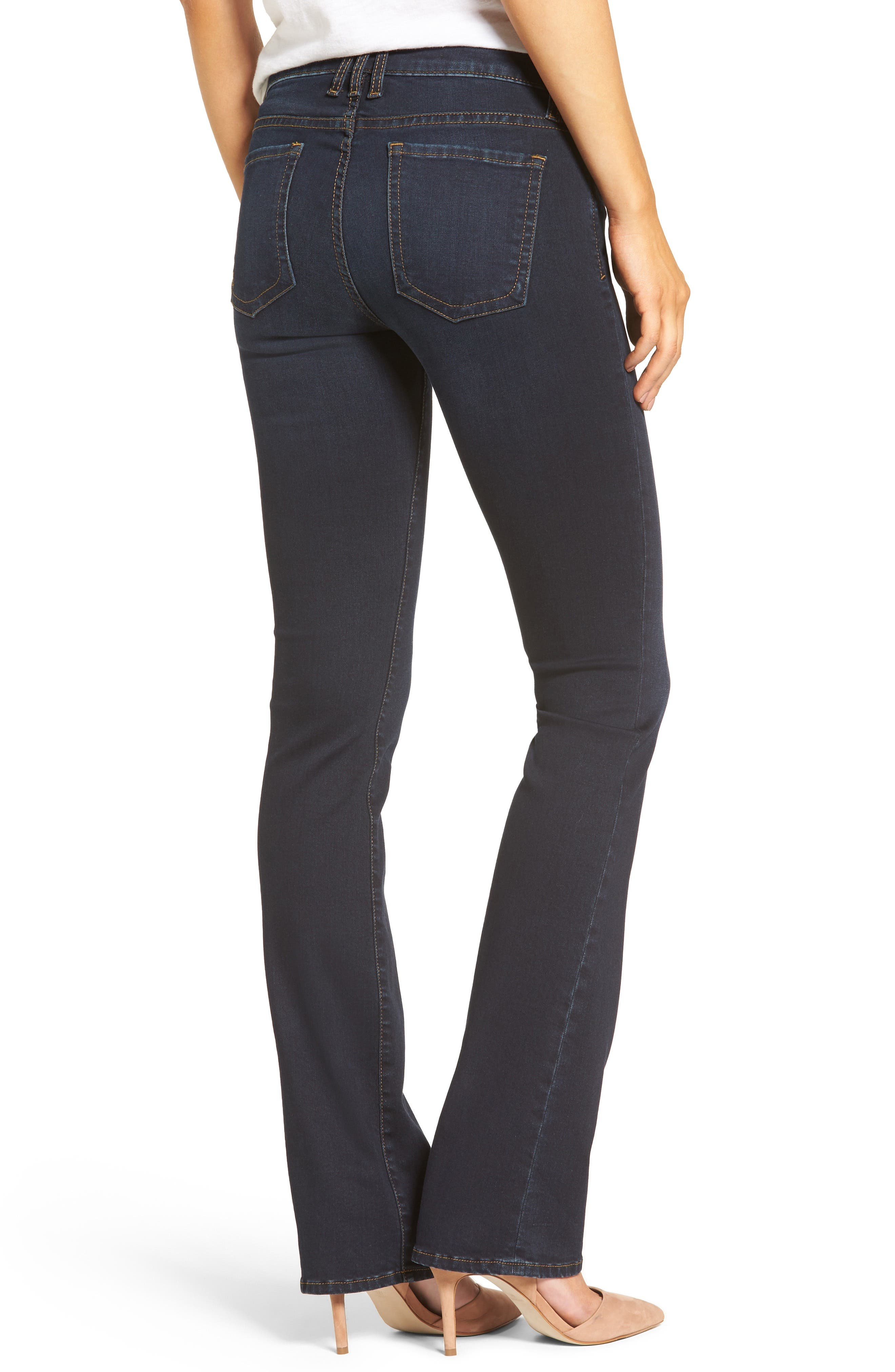 Alternate Image 2  - KUT from the Kloth Natalie Stretch Bootleg Jeans (Immeasurable) (Regular & Petite)