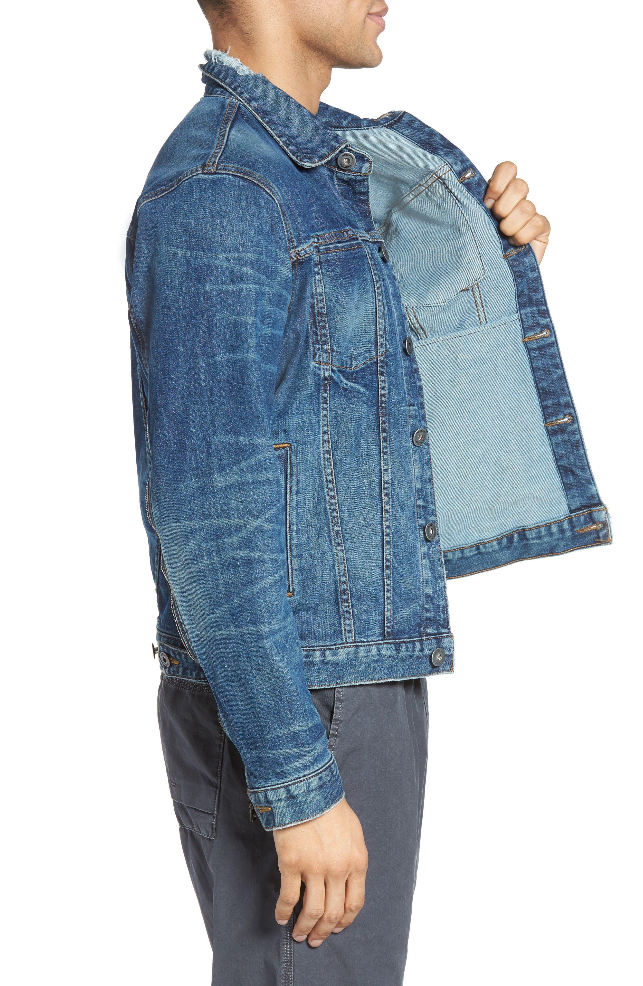 Alternate Image 3  - Hudson Jeans Broc Denim Jacket