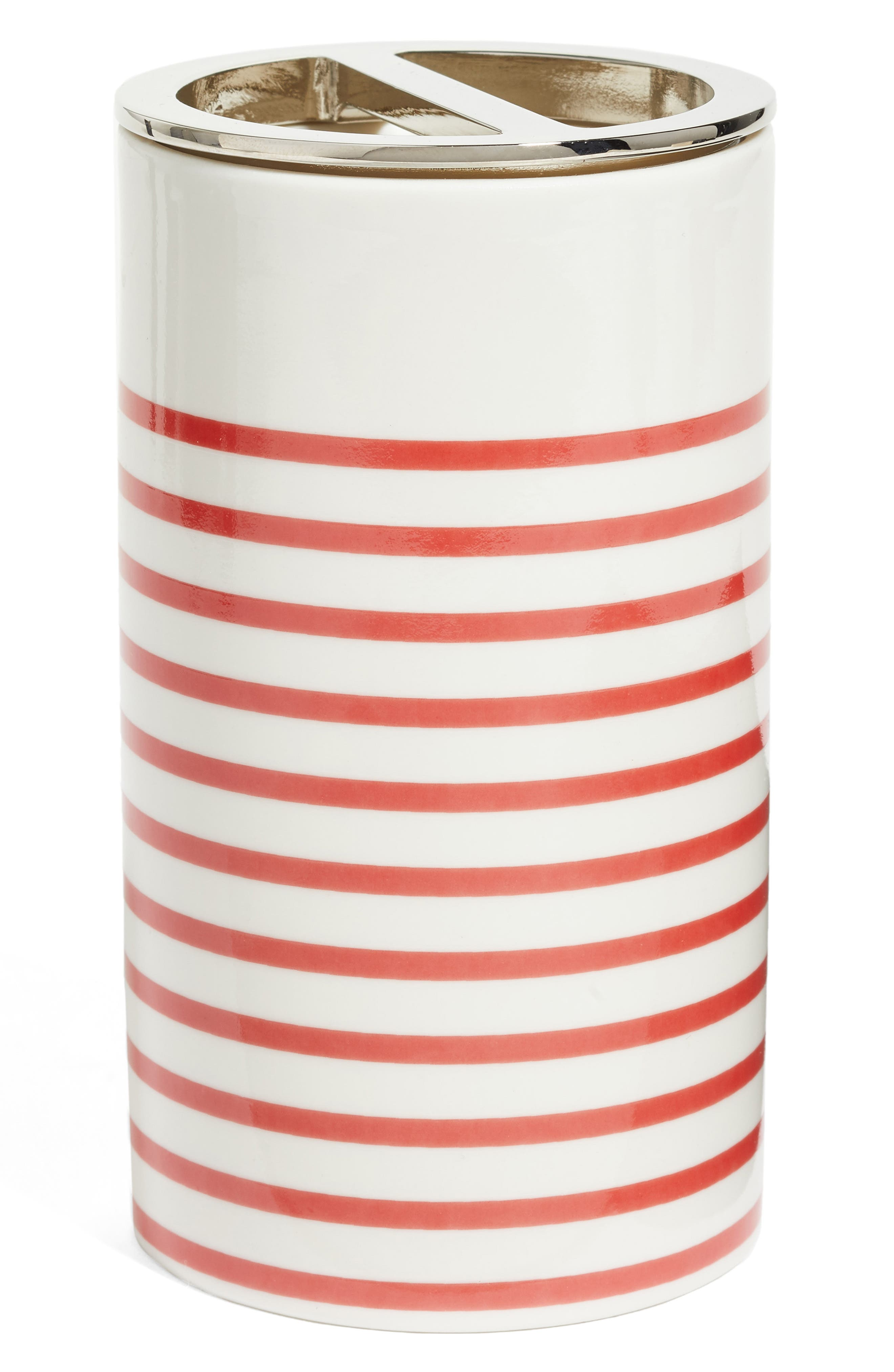 Main Image - kate spade new york paintball floral toothbrush holder