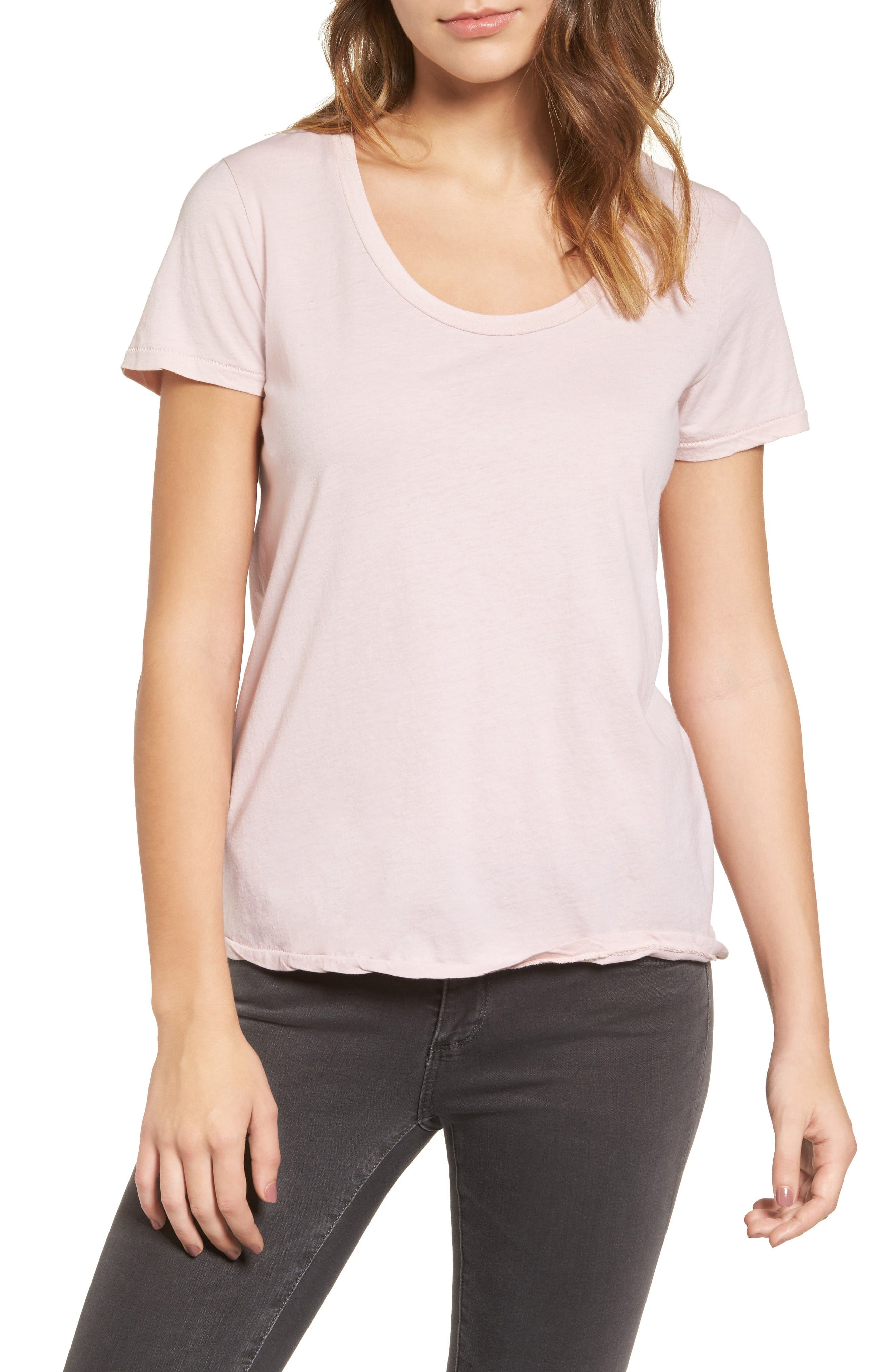 AG Killian Scoop Neck Tee