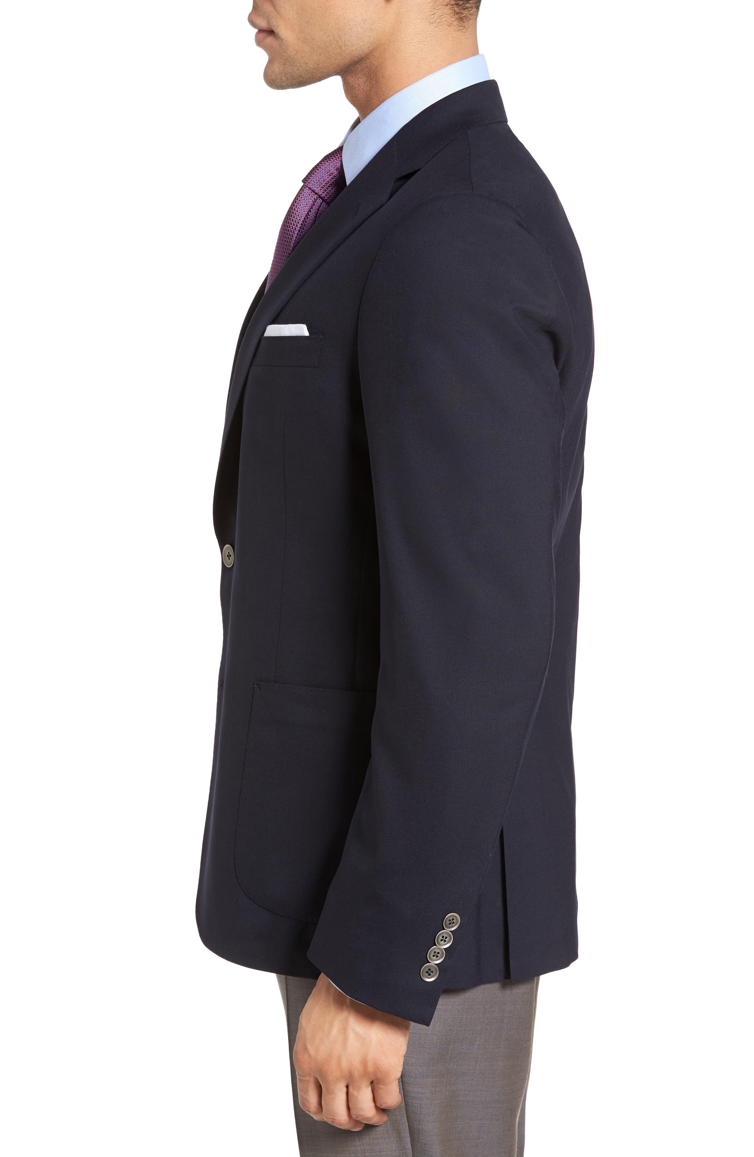 Alternate Image 3  - Samuelsohn Classic Fit Stretch Wool Travel Blazer